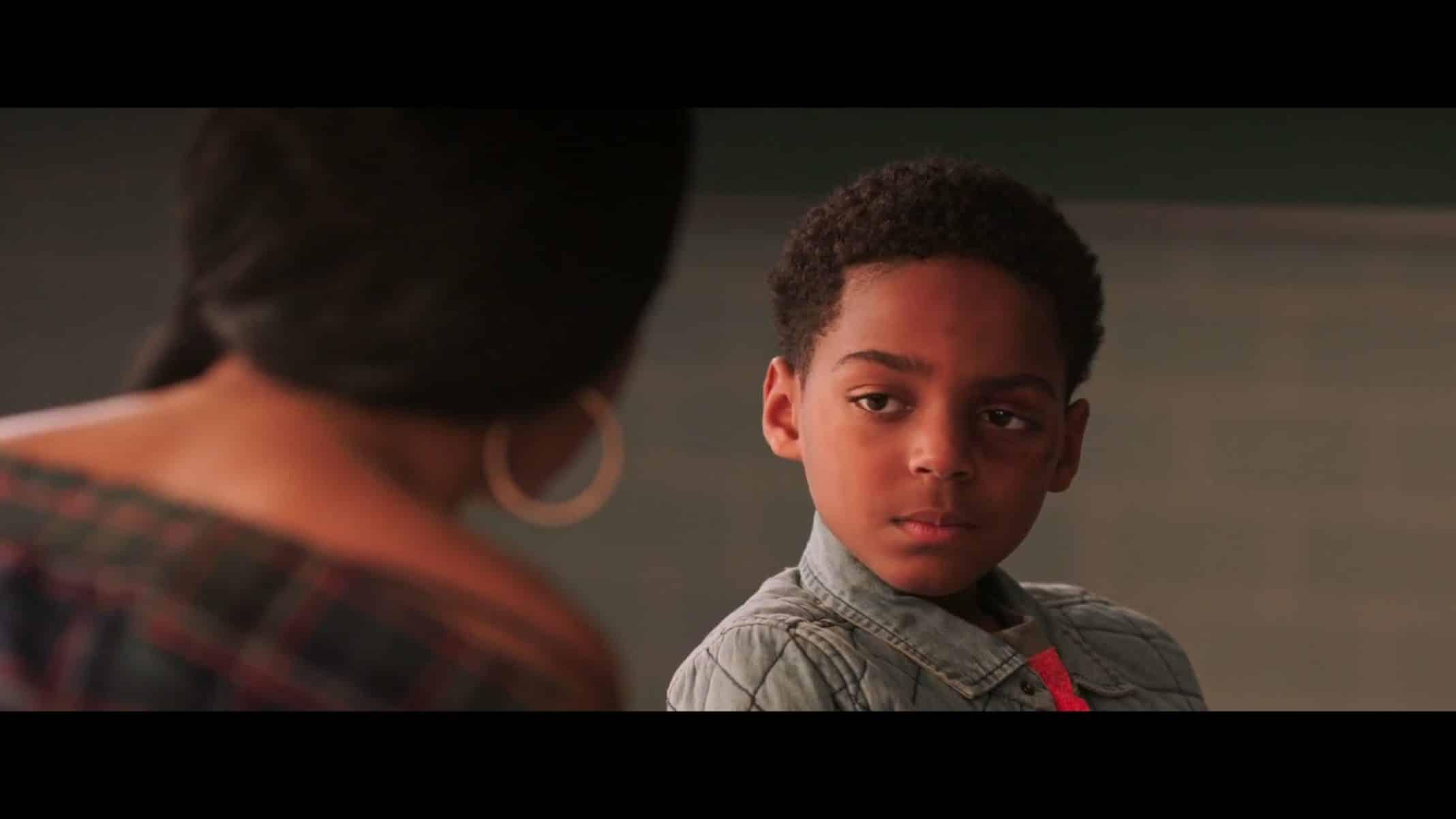 Jaylin (Jonny Berryman) in trouble after fighting at school.