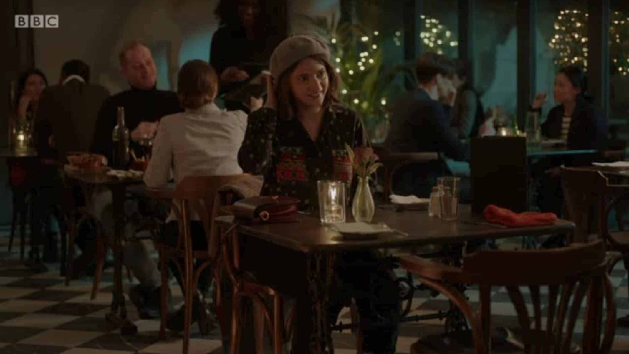 Nilufer (Pearl Chanda) on a date with Kwame - I May Destroy You