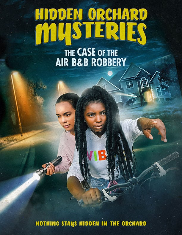 Poster - Hidden Orchard Mysteries Case Of The Air Bnb Robbery