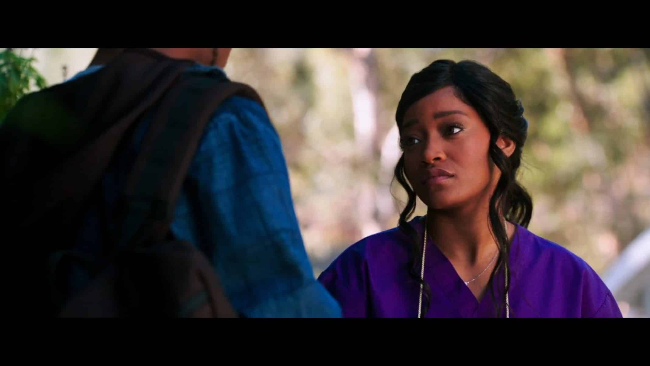 Sky (KeKe Palmer) growing tired of Deandre not being the kind of man she needs.