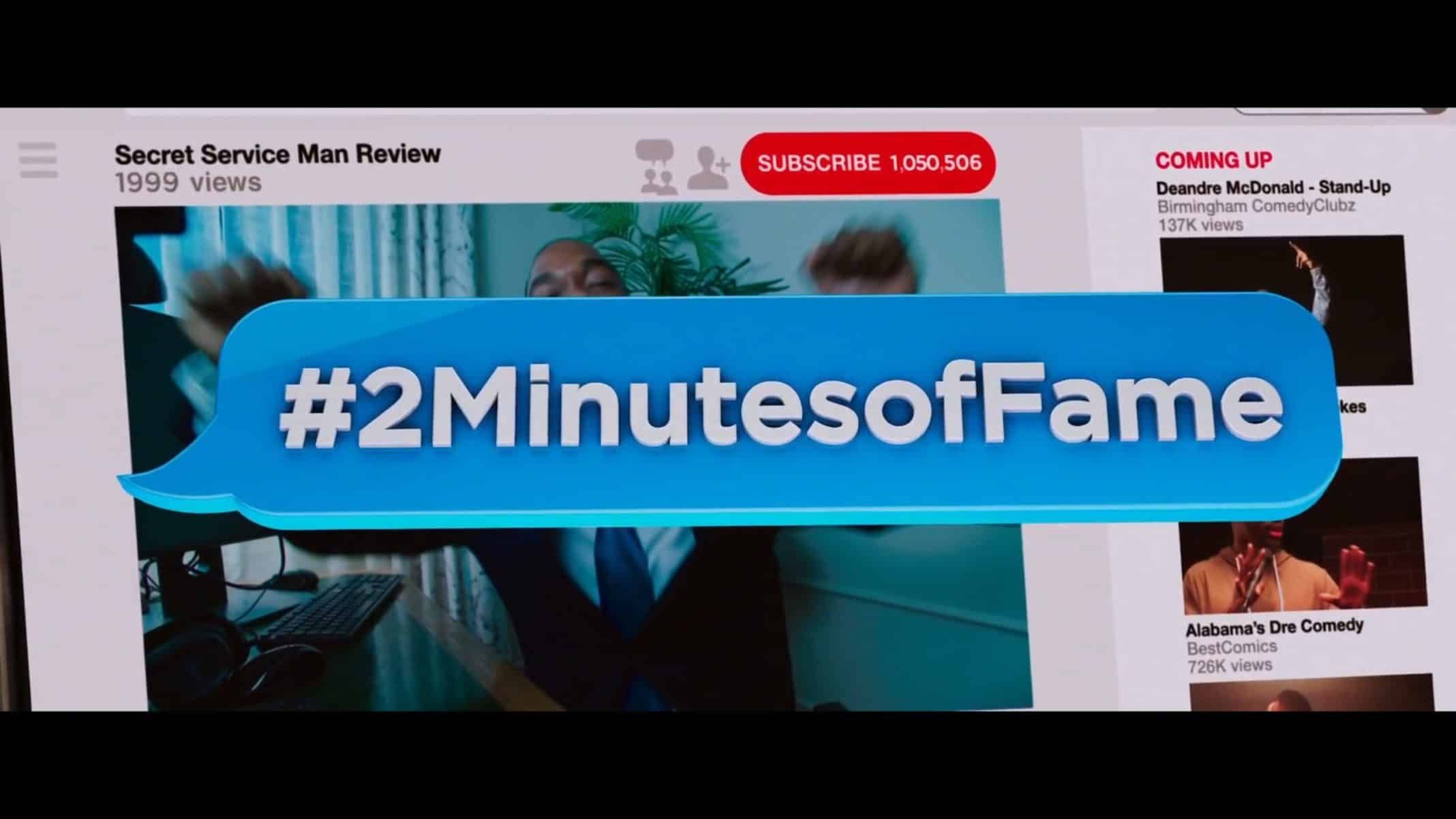 Title Card - 2 Minutes of Fame (2020)
