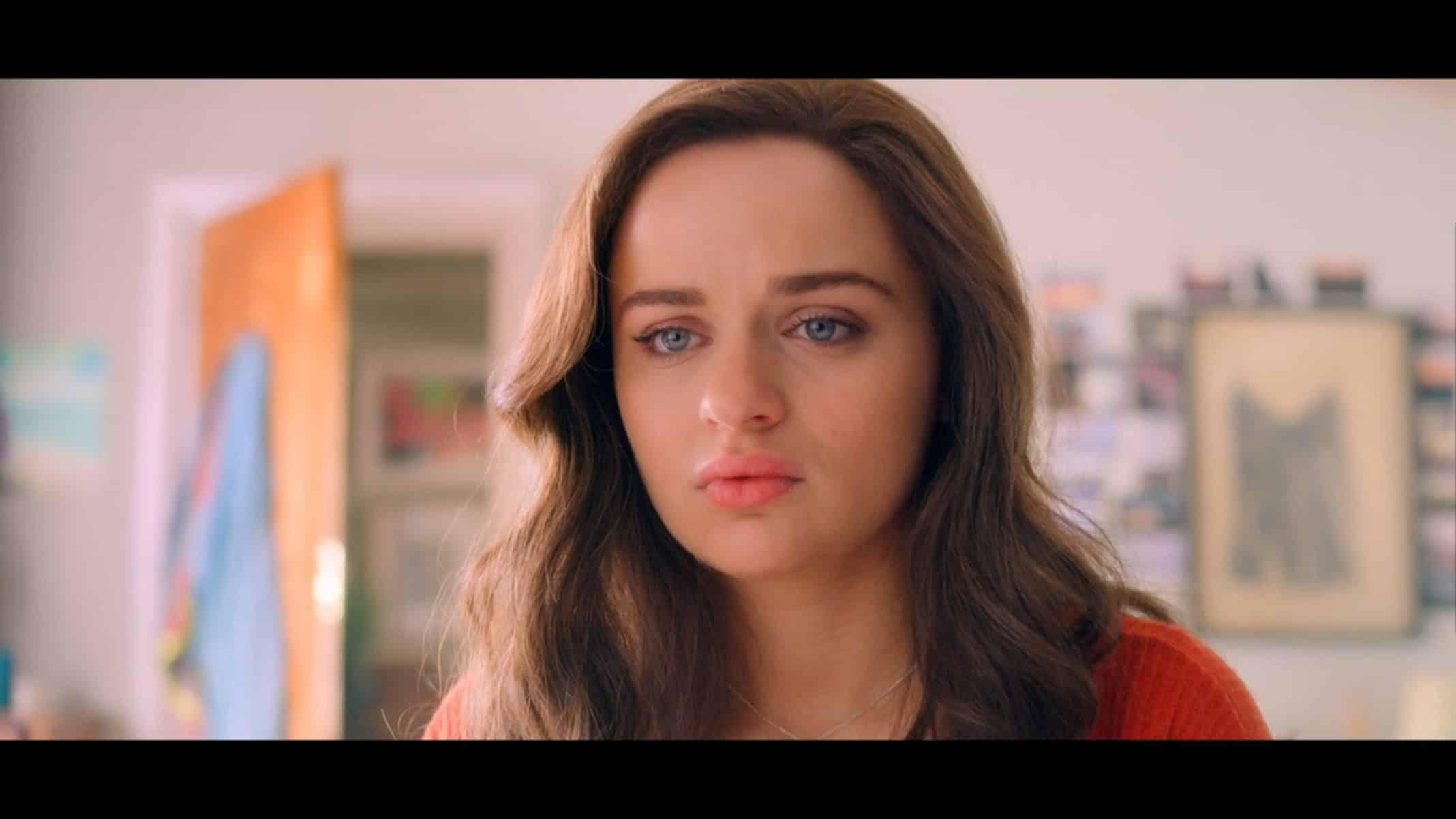 Elle (Joey King) dealing with having to choose between UC Berkeley and Harvard