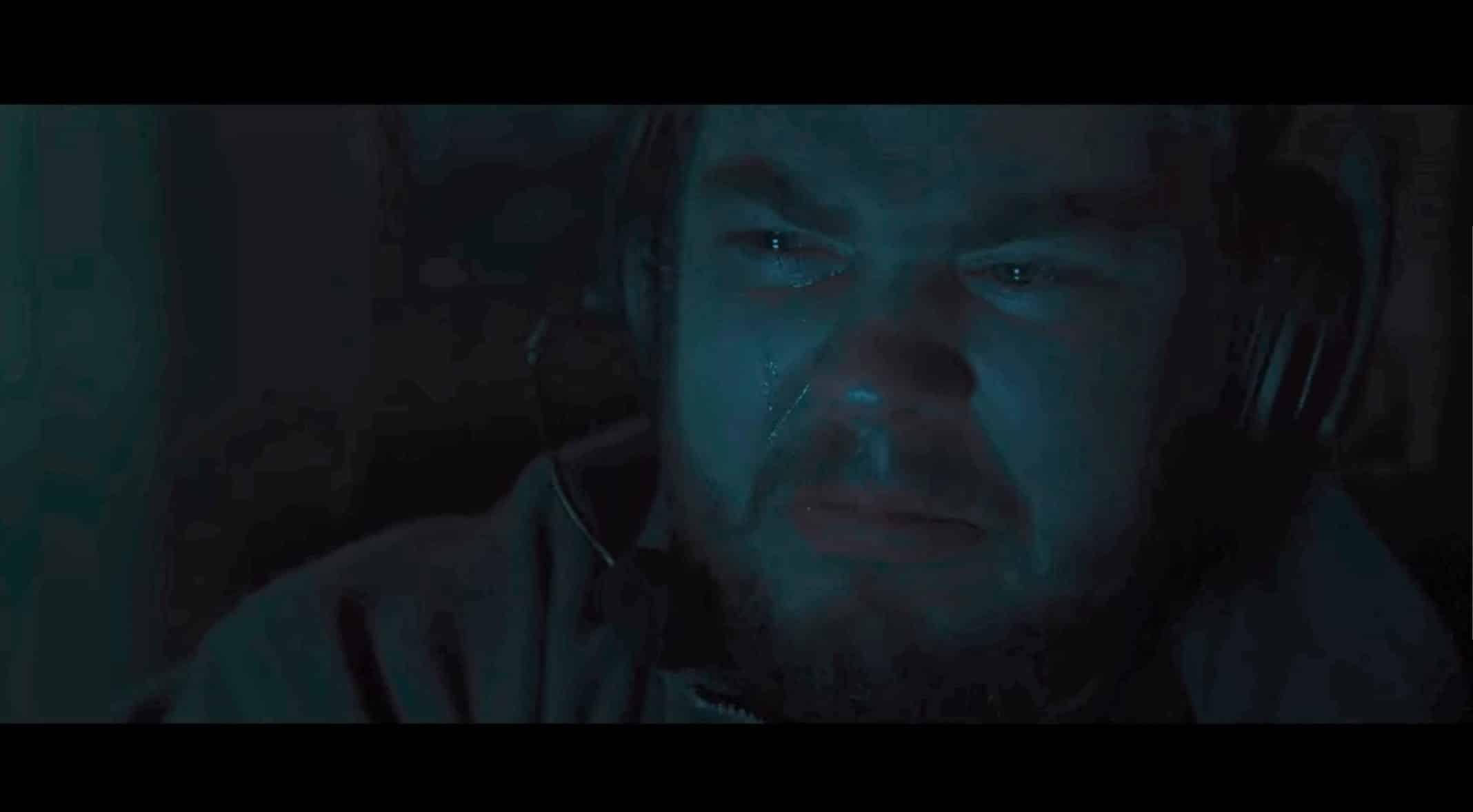 Guzek (Adam Gradowski) crying.