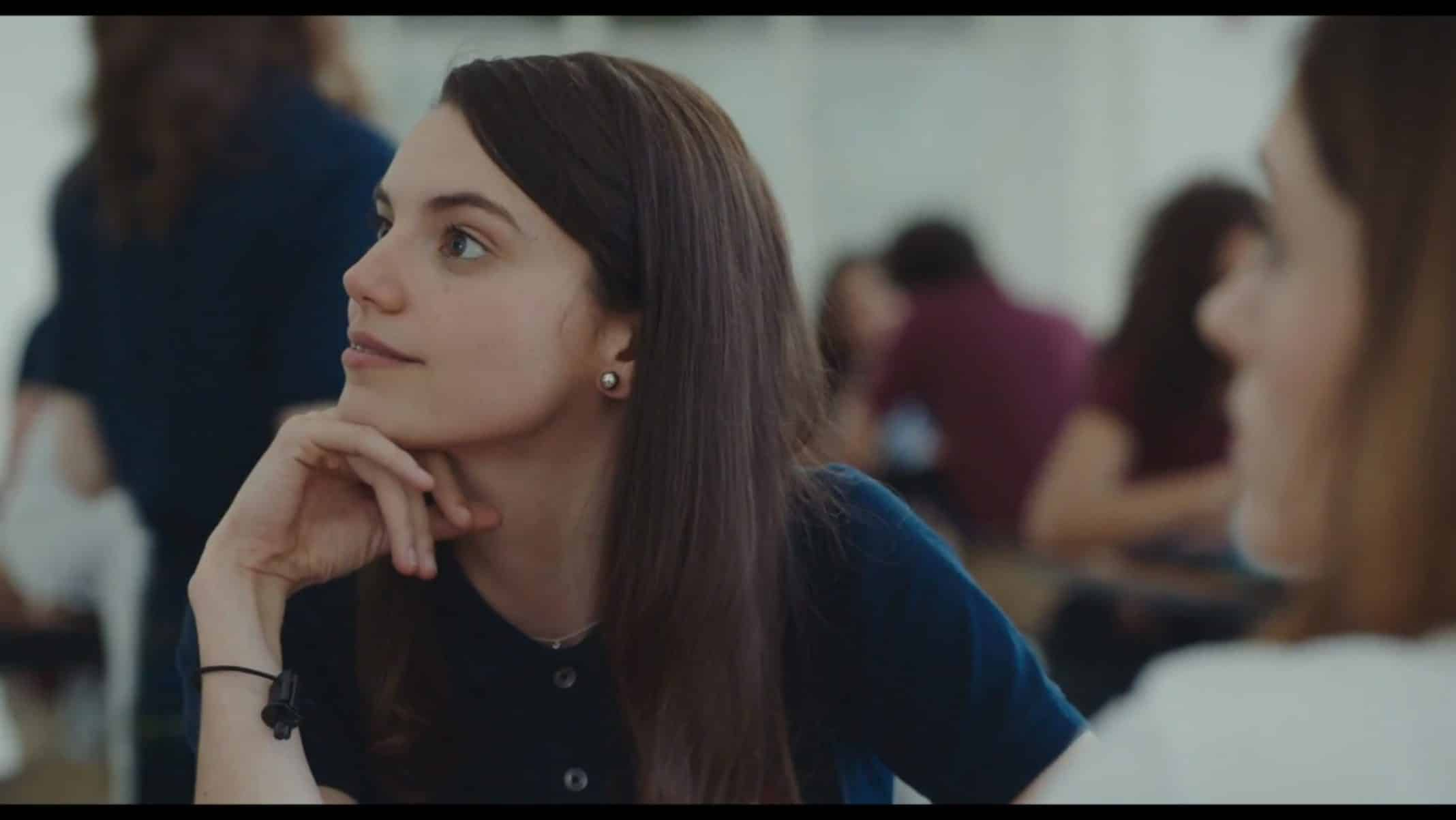 Laura (Francesca Reale) thinking to herself.