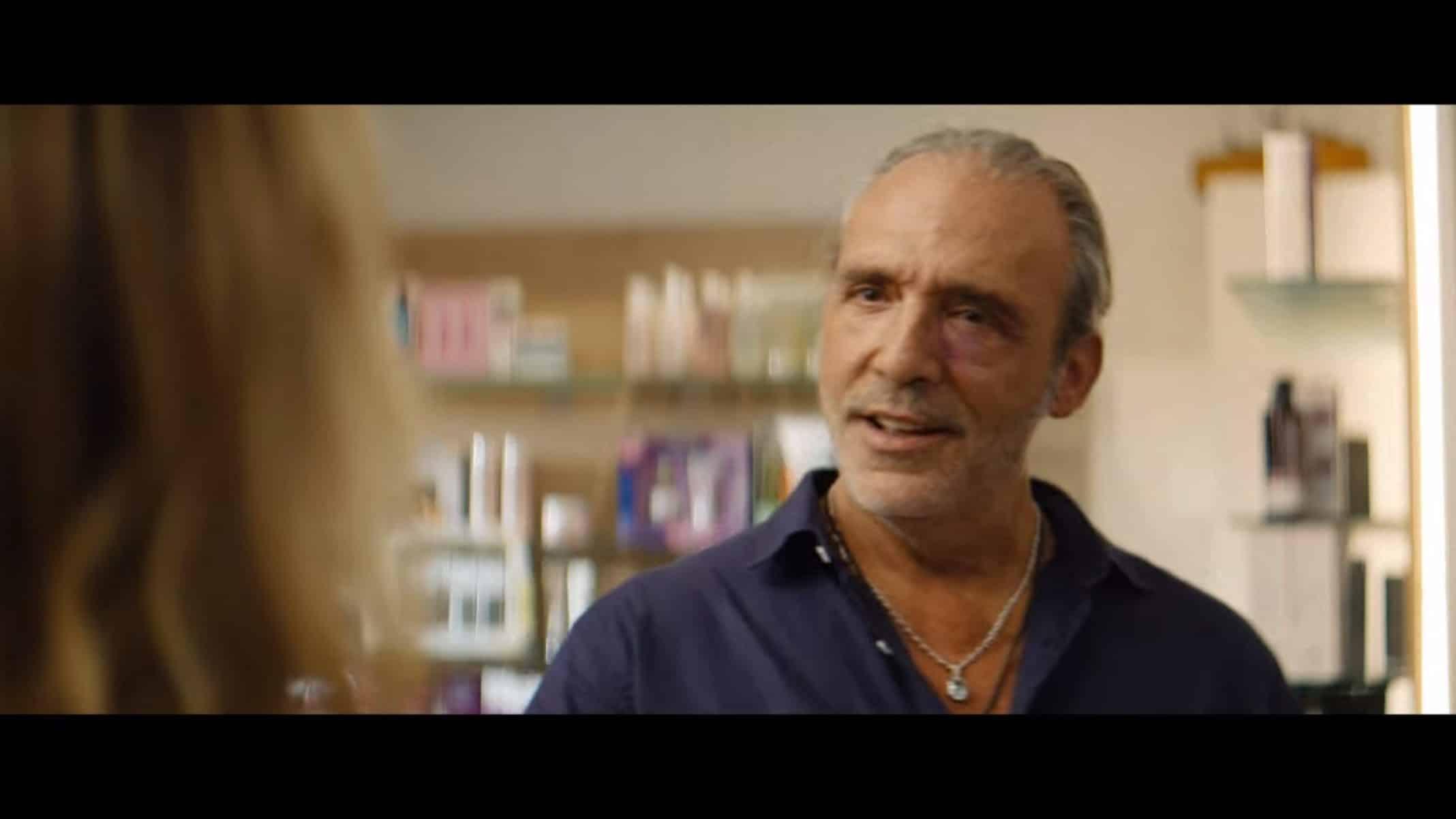 Lucio (Luca Ward) talking to Irene