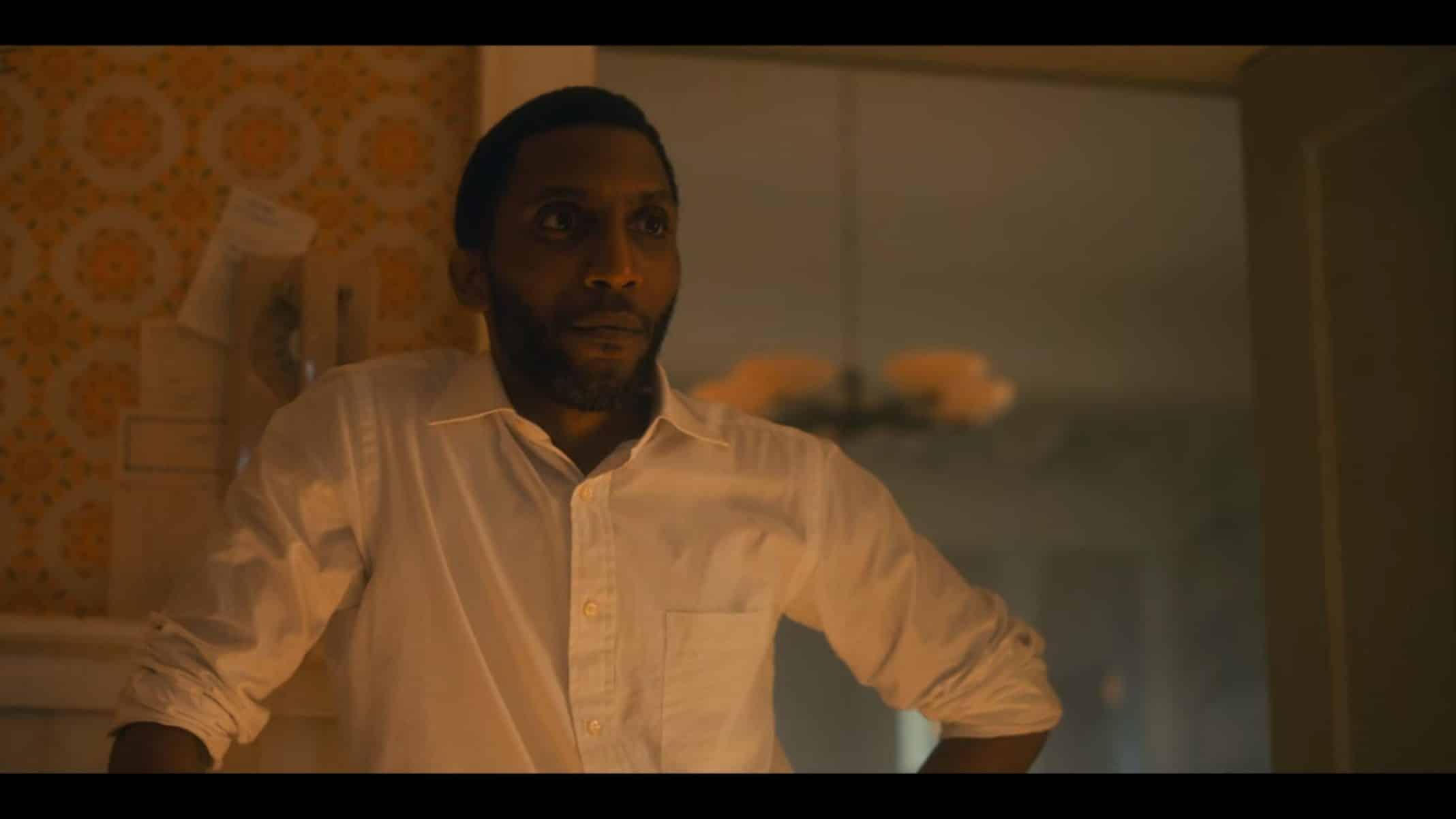 Raymond (Yusef Gatewood) talking to Luther.