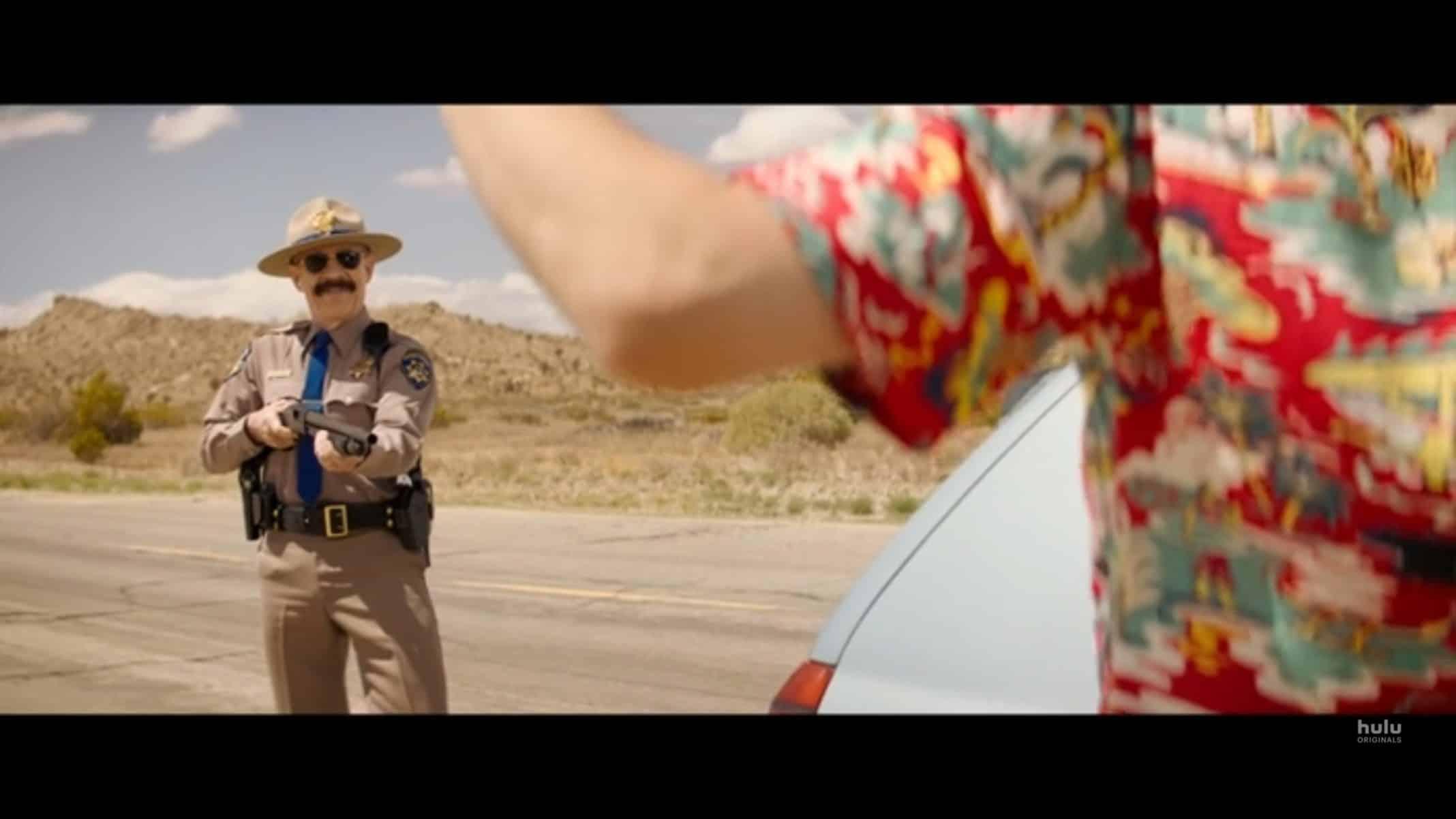 Roy (J.K. Simmons) ready to shoot Nyles.