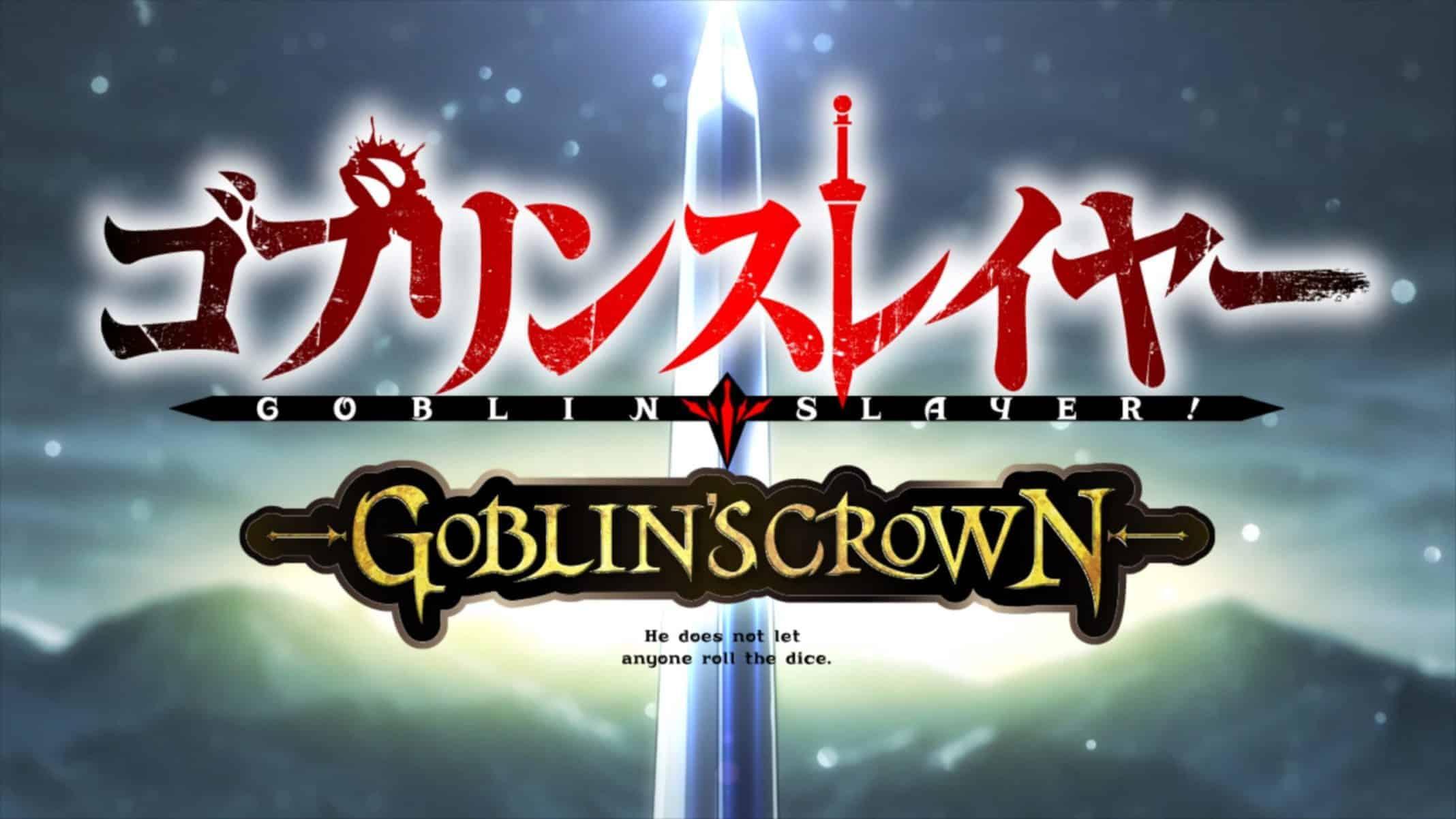 Title Card - Goblin Slayer Season 1 Goblin's Crown