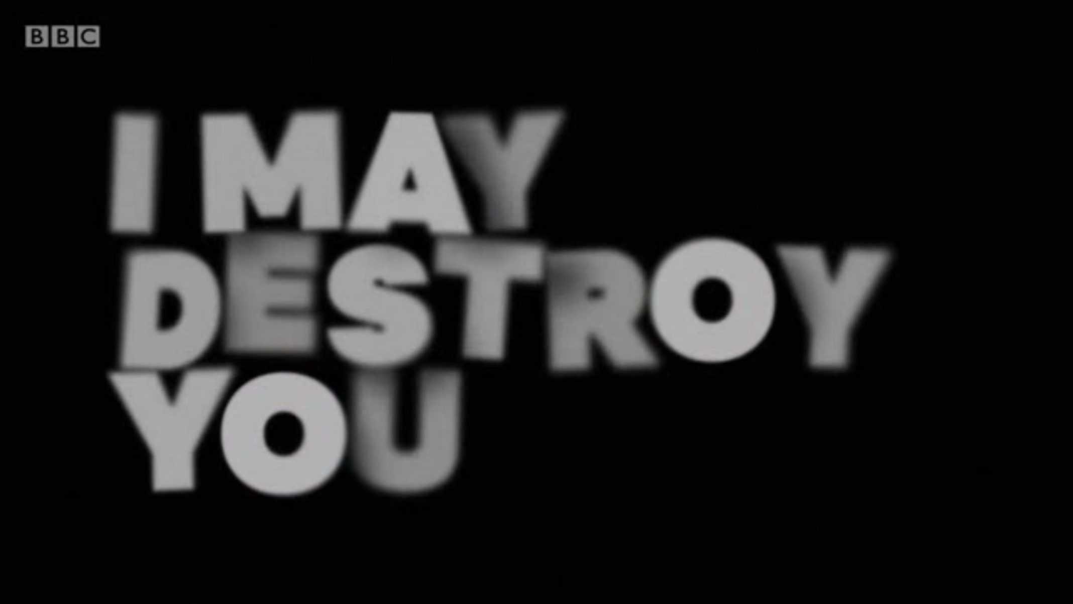 Title Card - I May Destroy You Season 1 Episode 12 Ego Death [Season Finale]