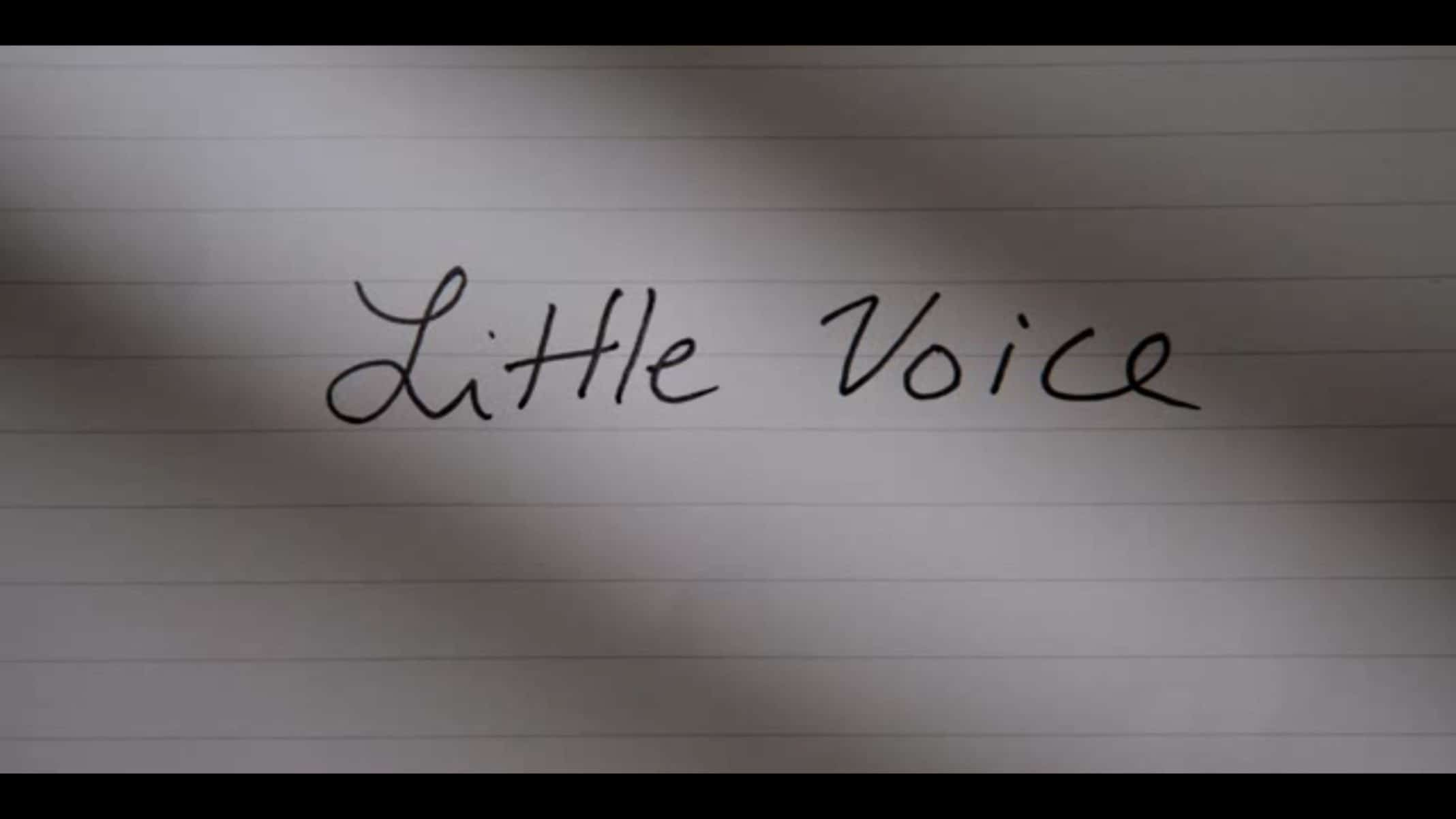 Title Card - Little Voice Season 1 Episode 1 I Don't Know