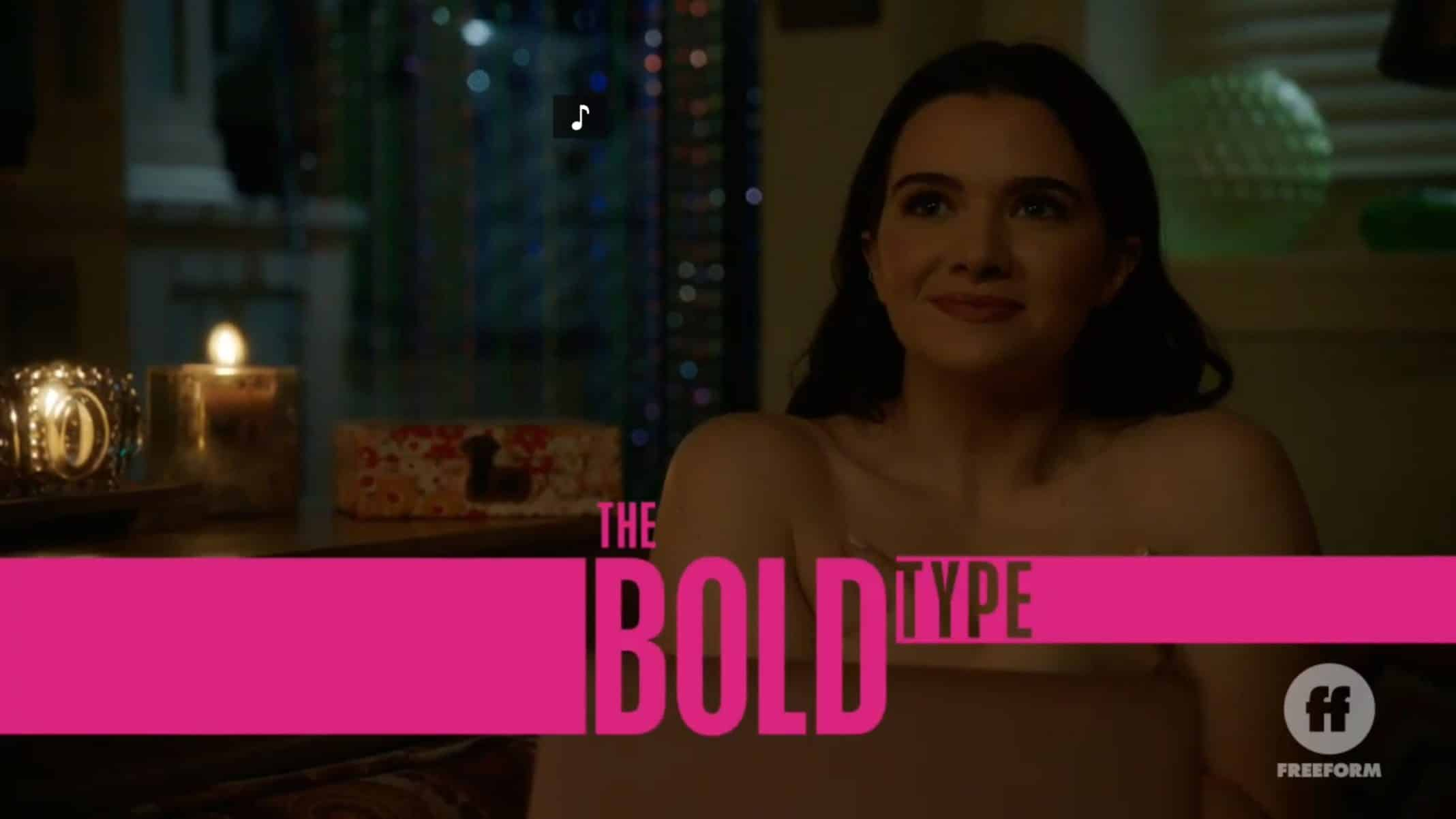 Title Card - The Bold Type Season 4 Episode 14 The Truth Will Set You Free