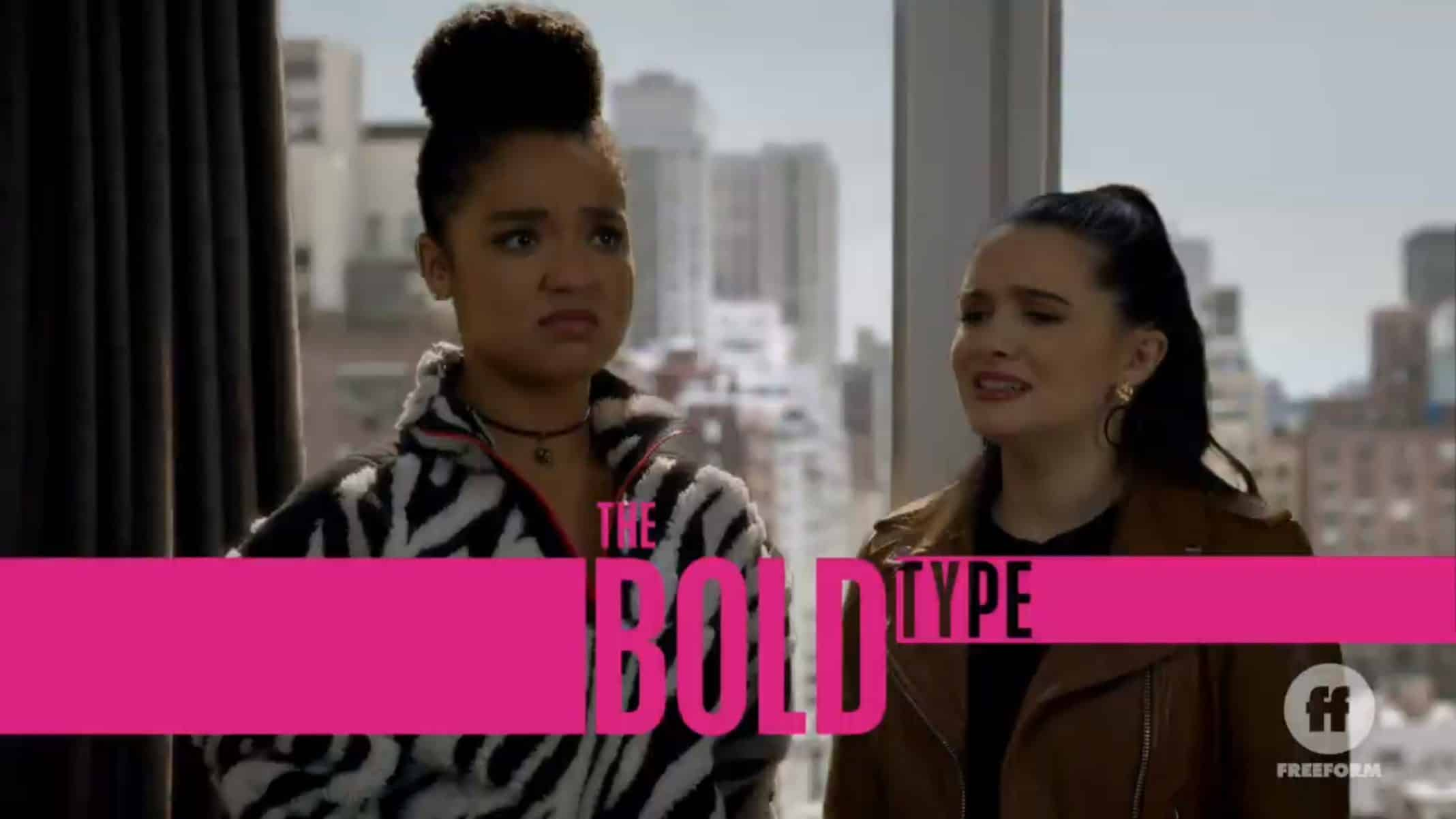 Title Card - The Bold Type Season 4 Episode 16 Not Far From The Tree [Season Finale]
