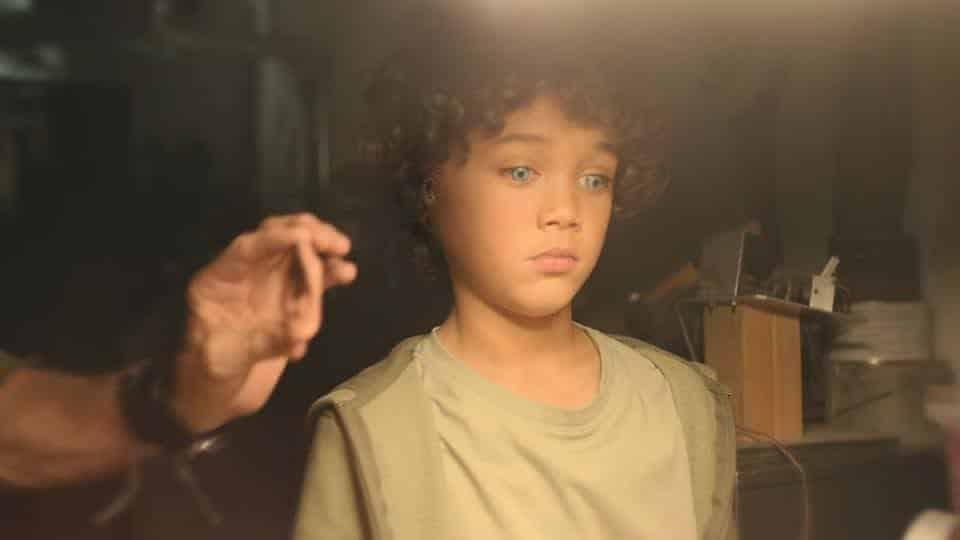 Calian (Tyler Ghyzel) being built.