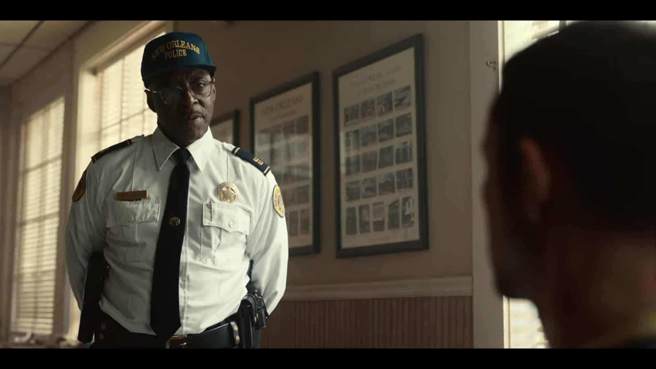 Captain Craine (Courtney B. Vance)