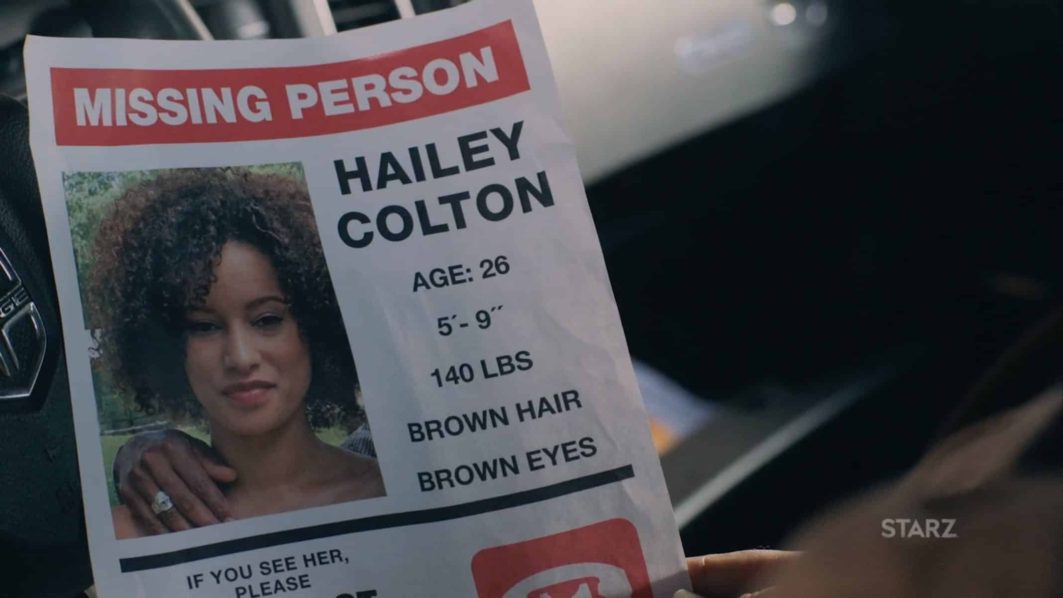 Hailey Missing Person's Poster