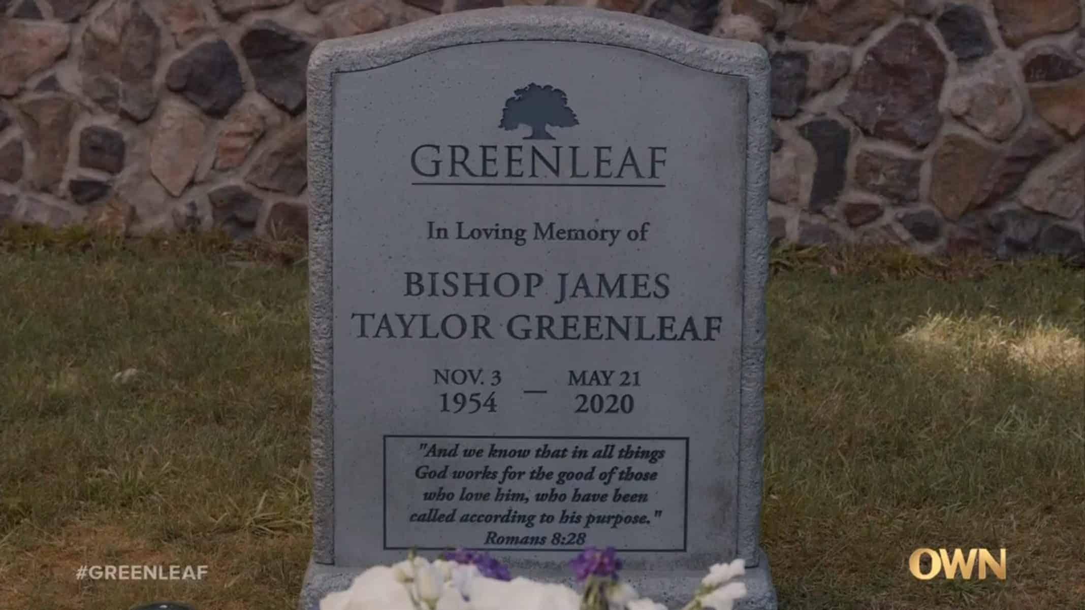 James' Tombstone