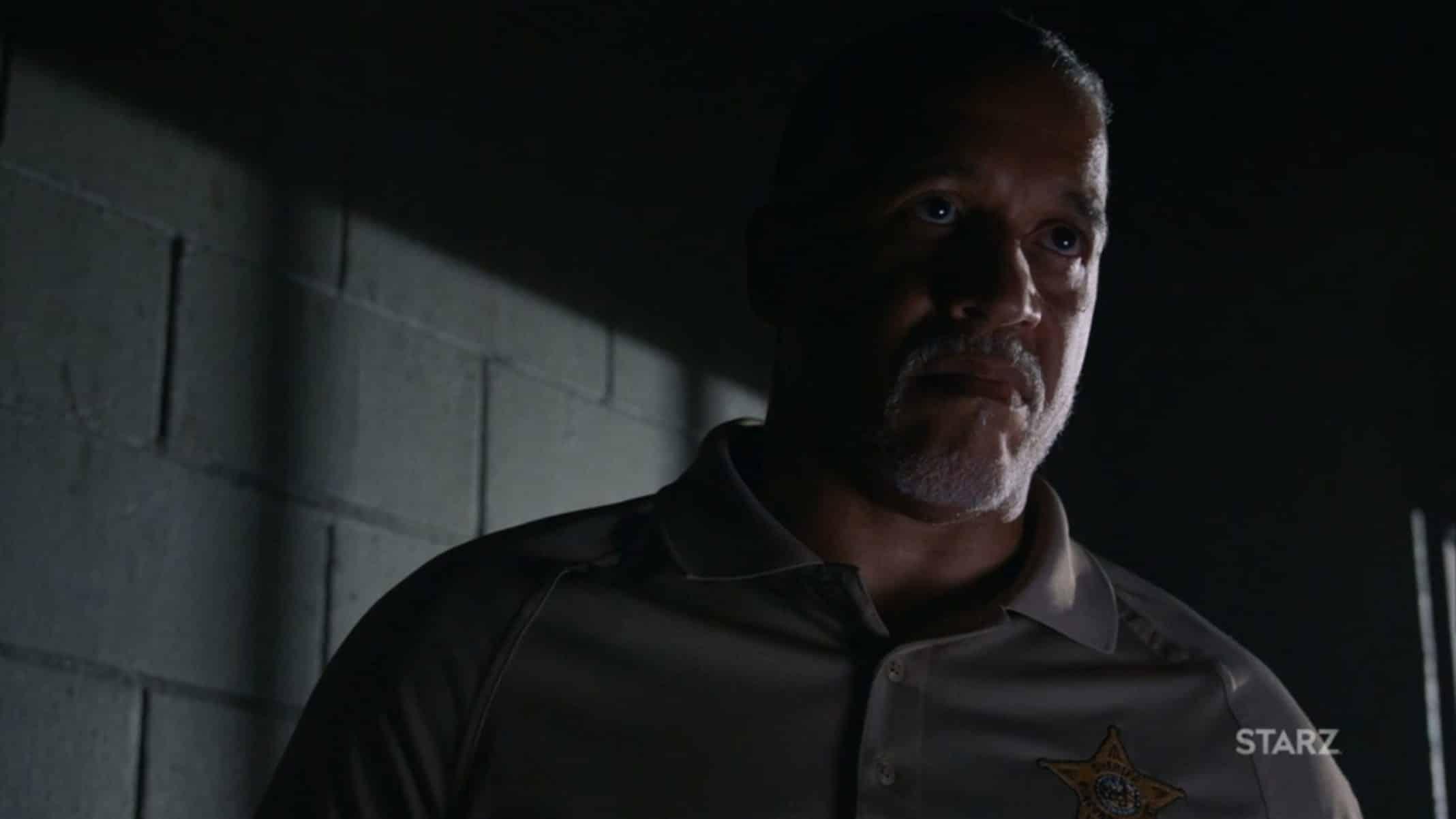 Jesse (J. Leon Pridgen II) talking to Mercedes.