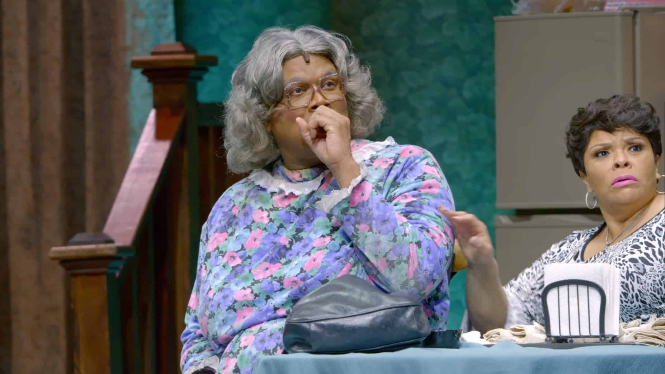 Madea (Tyler Perry) shocked at Titi
