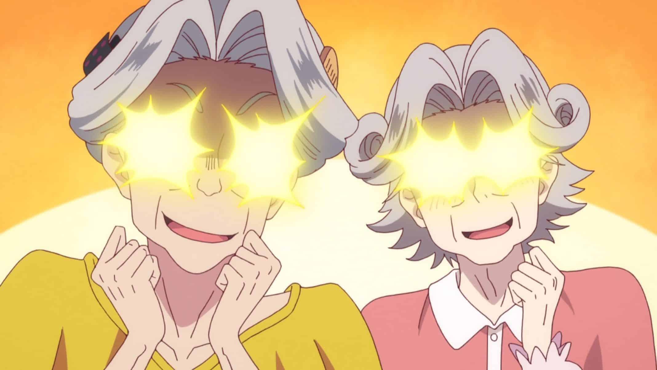Nagomin and Sayutaso (Sadaoka Sayuri) reveling in their ill intentions.