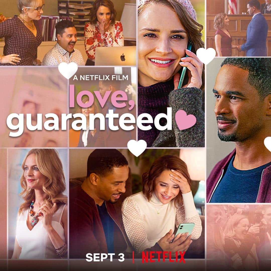 Love, Guaranteed poster featuring its cast.