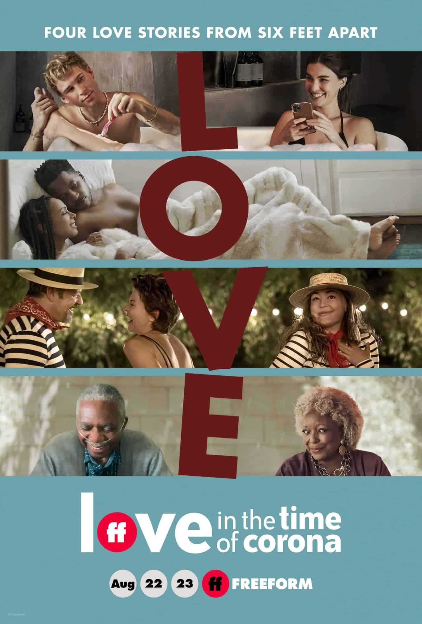 Poster for Love In The Time of Corona.