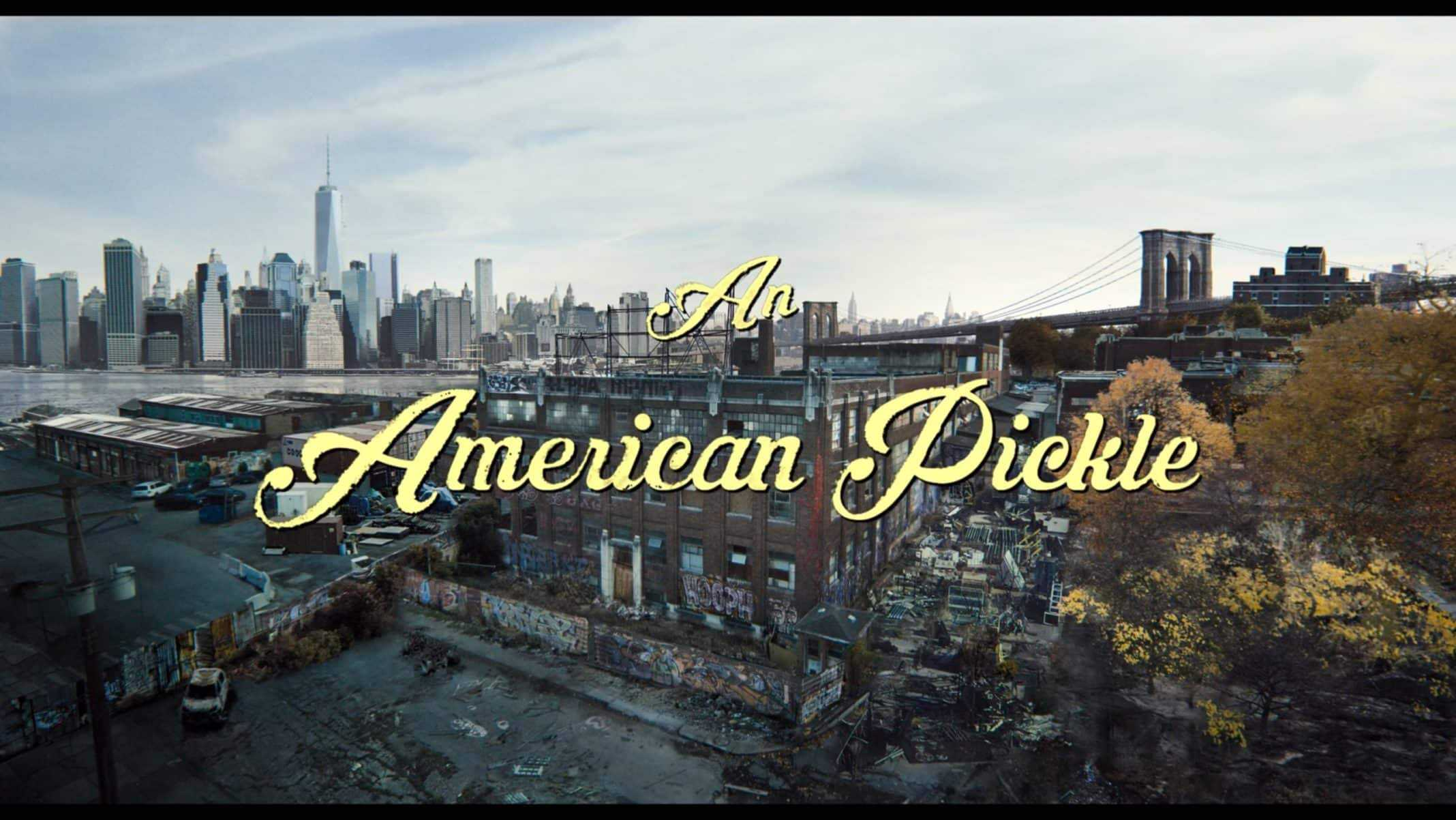 Title Card - An American Pickle (2020)