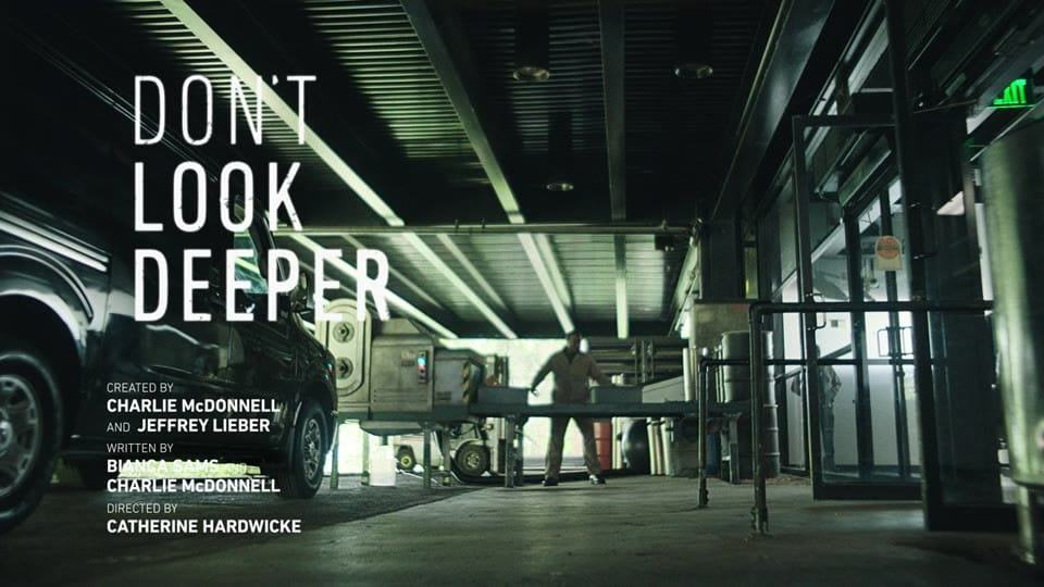 Title Card Episode 13 - Don't Look Deeper Season 1 Episodes 13 to 14