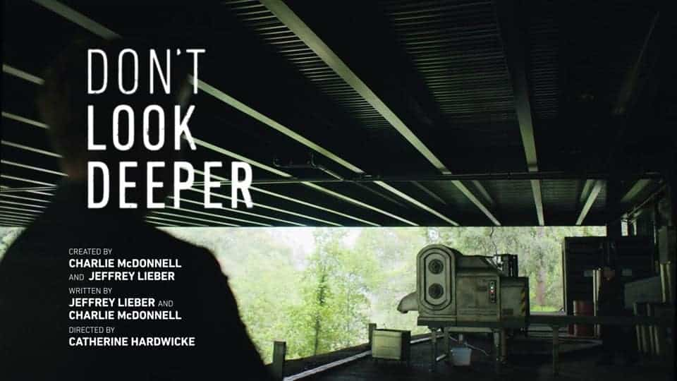 Title Card Episode 14 - Don't Look Deeper Season 1 Episodes 13 to 14