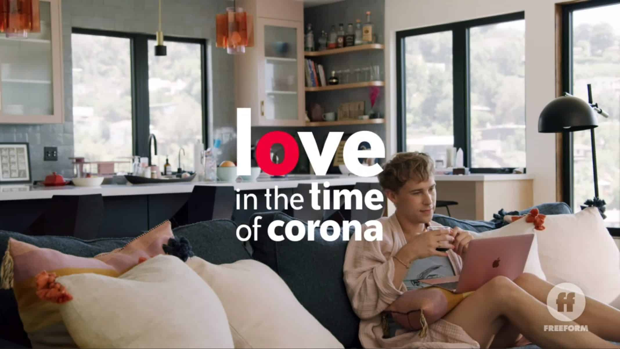 Title Card - Love In The Time of Corona Season 1 Episode 3 Seriously Now