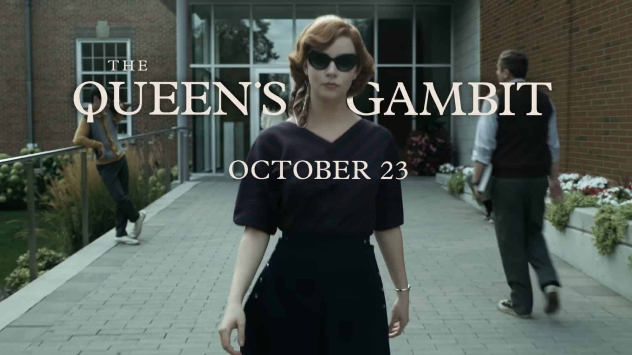 Title Card - The Queen's Gambit