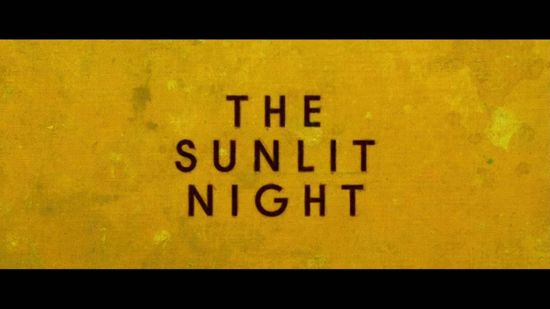 Title Card - The Sunlit Night (2020)