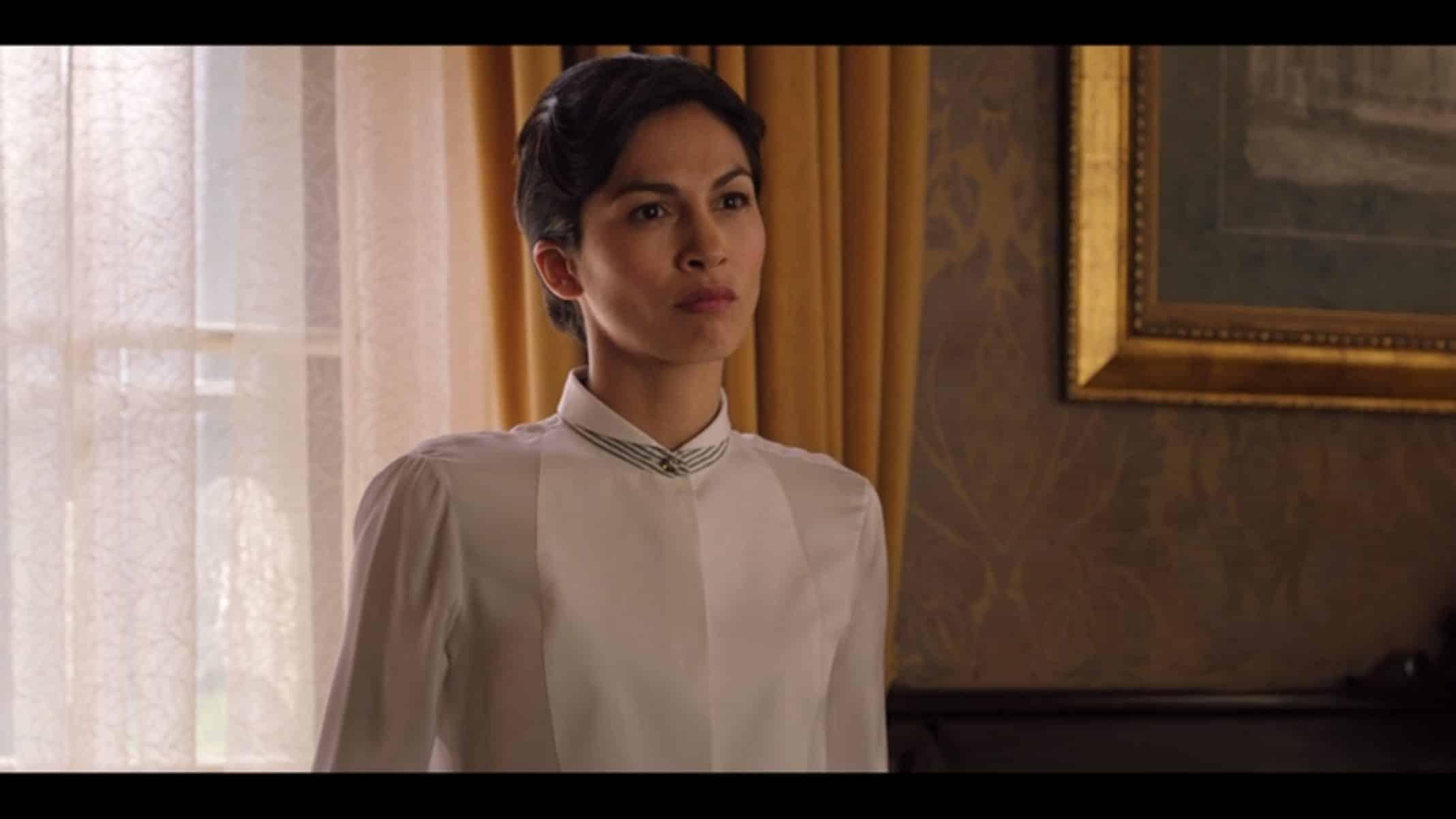 Catherine (Elodie Yung) chastising Sam.