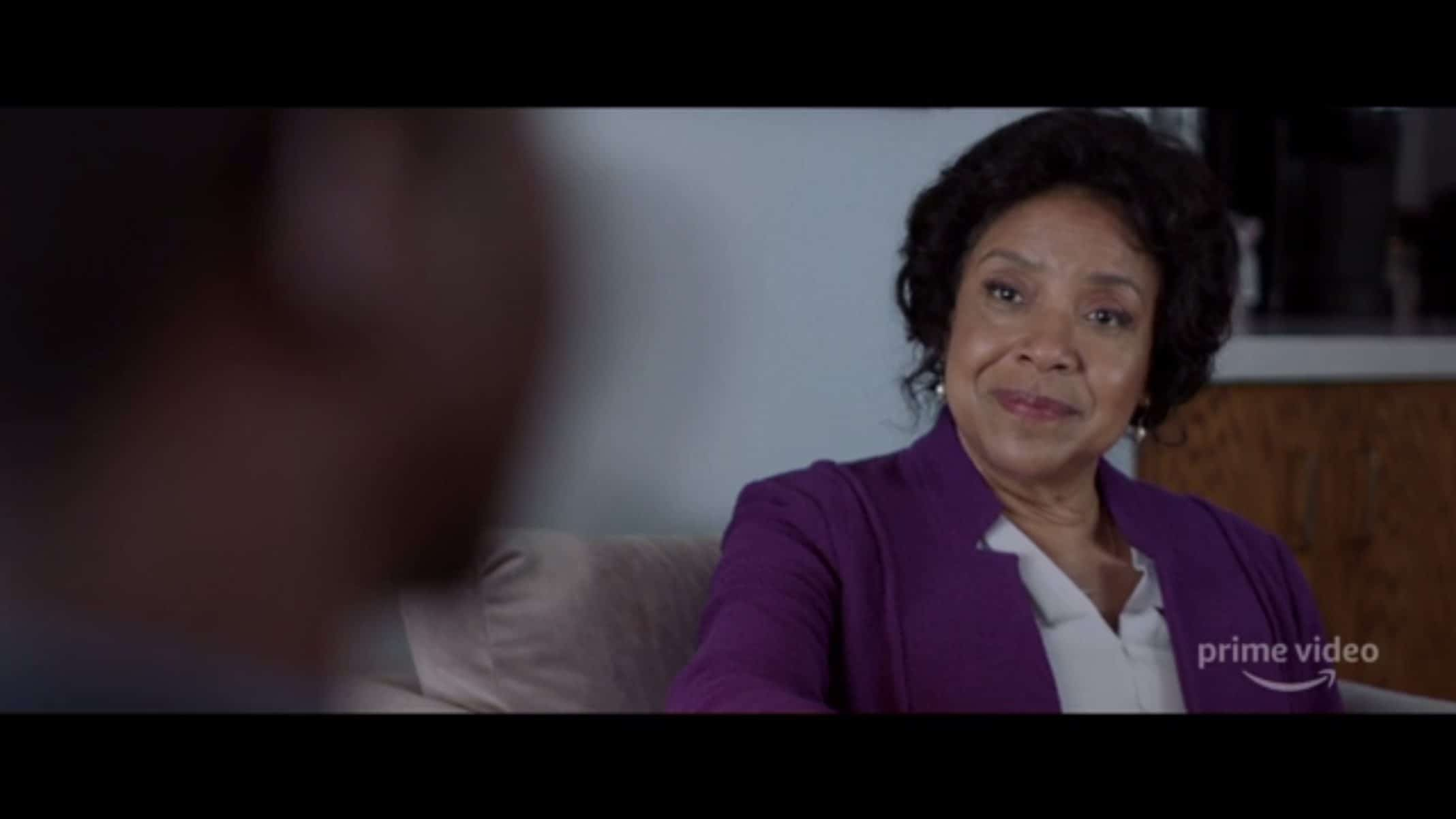 Dr. Lillian Brooks (Phylicia Rashad) during her consultation with Nolan.