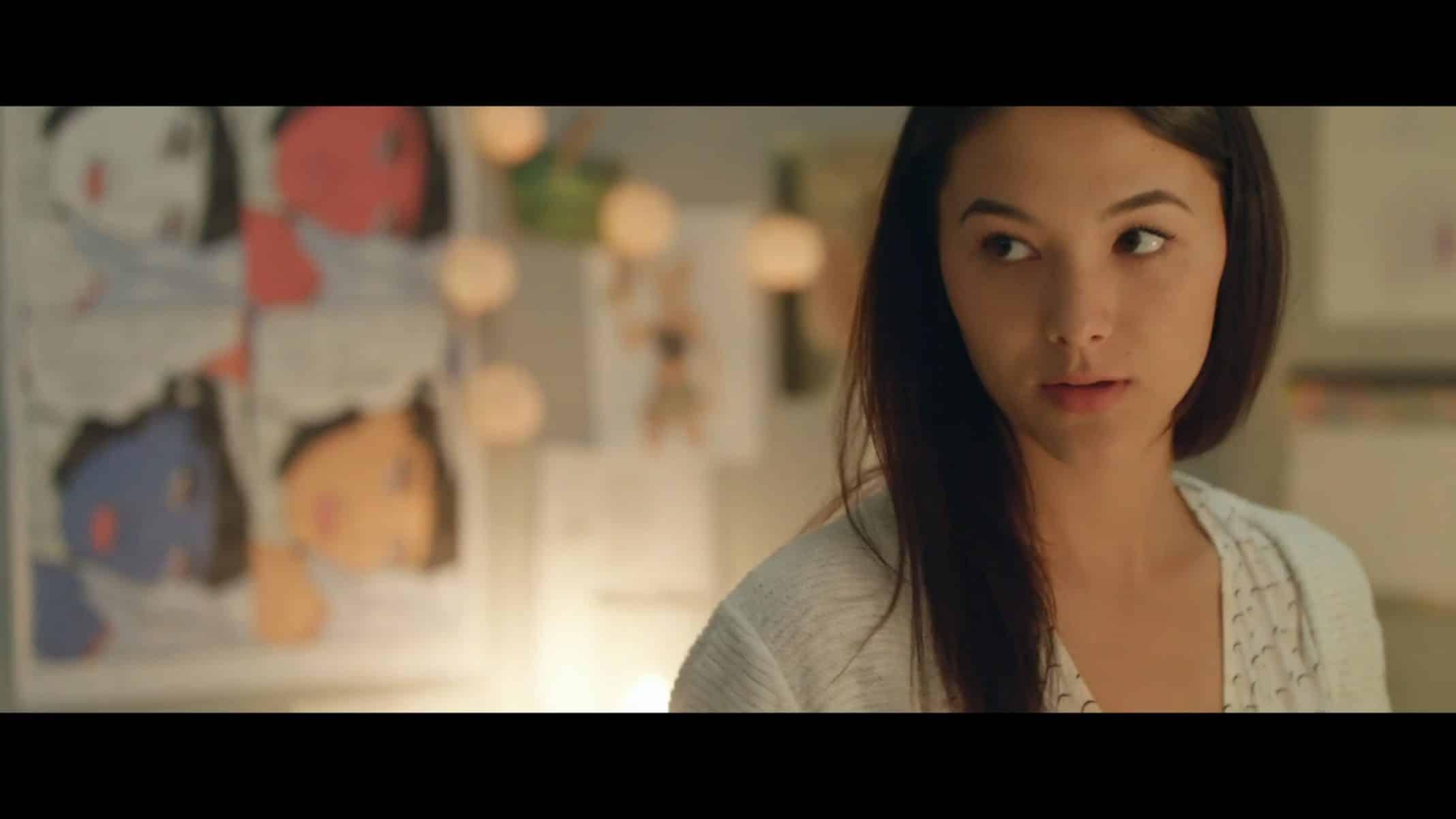 Eva (Fivel Stewart) in her room.