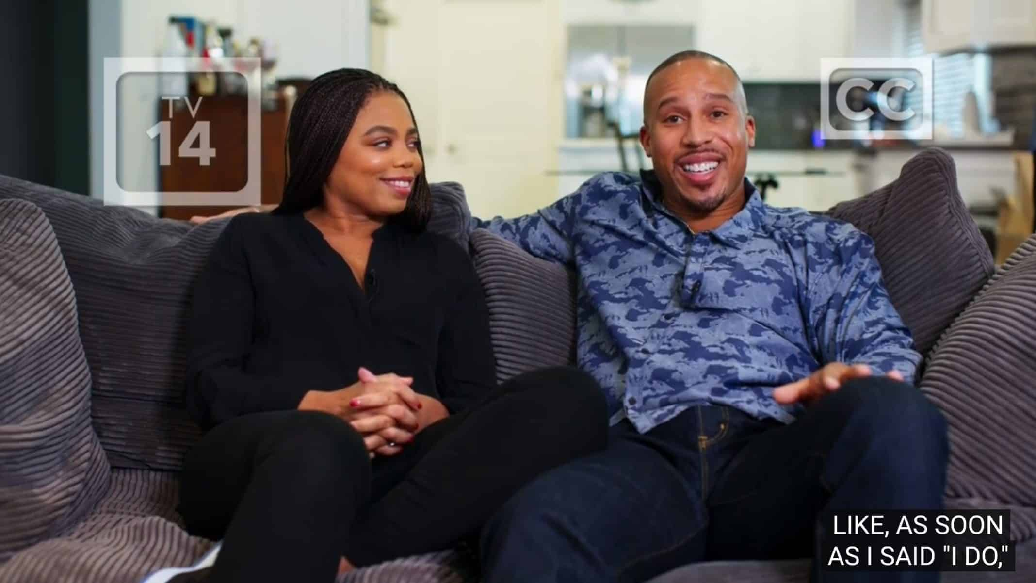 Jemele Hill and Ian Wallace talking about their relationship.