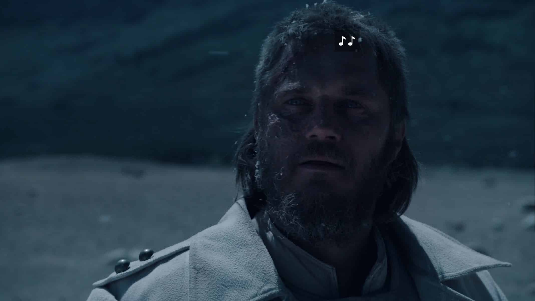 Marcus (Travis Fimmel) seeing the destruction of his ark.