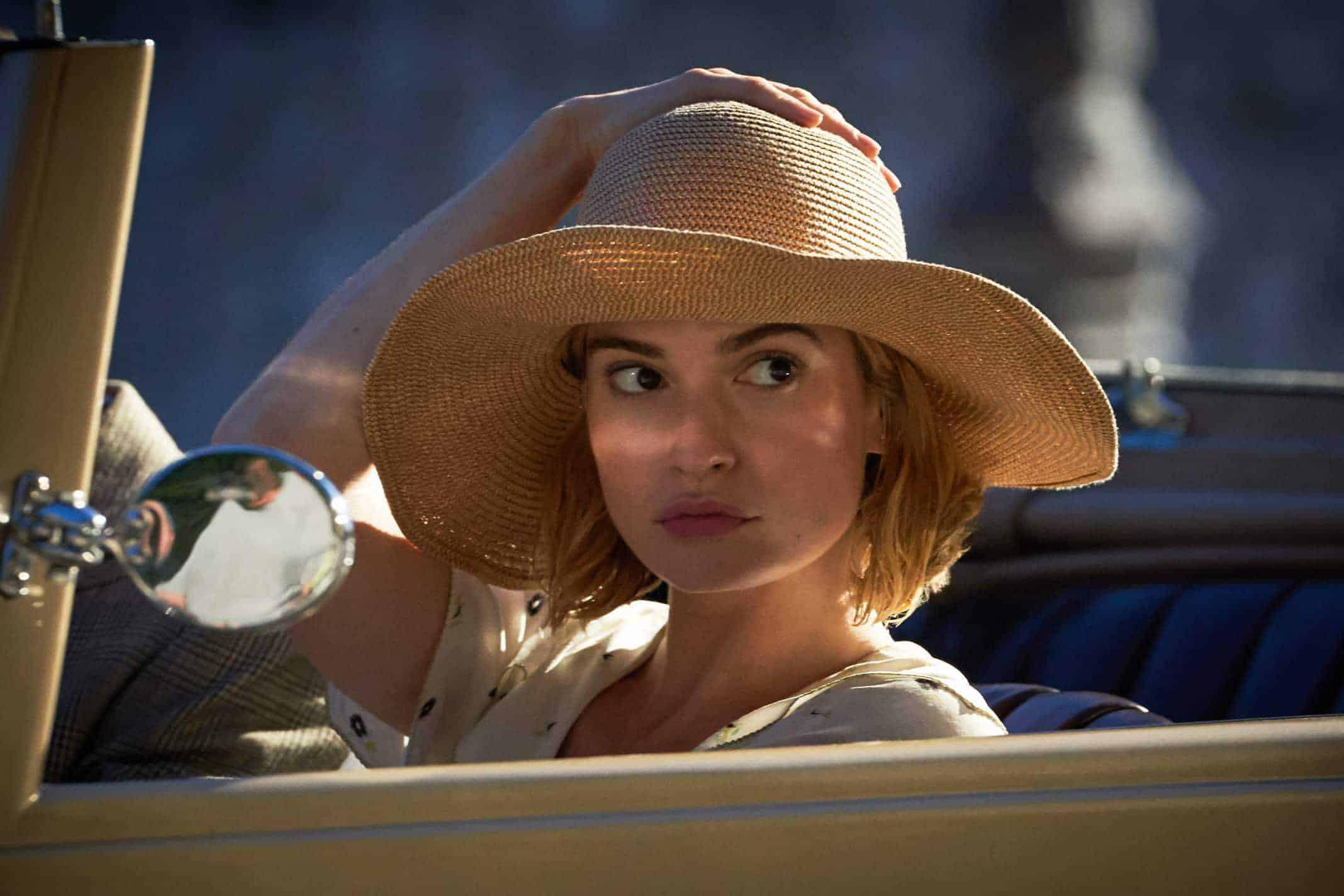 Lily James as Mrs. de Winter