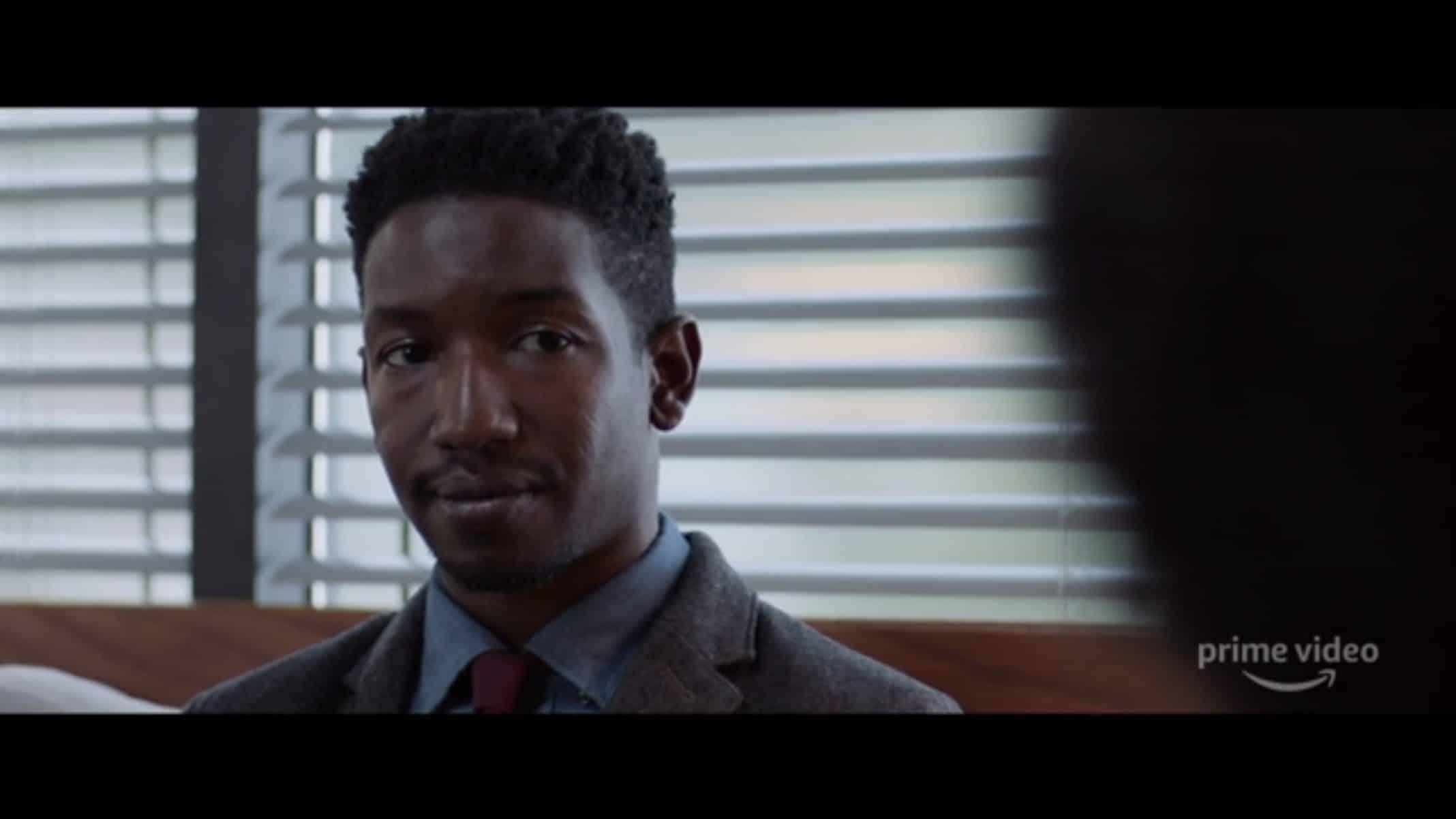 Nolan (Mamoudou Athie) getting a consultation.