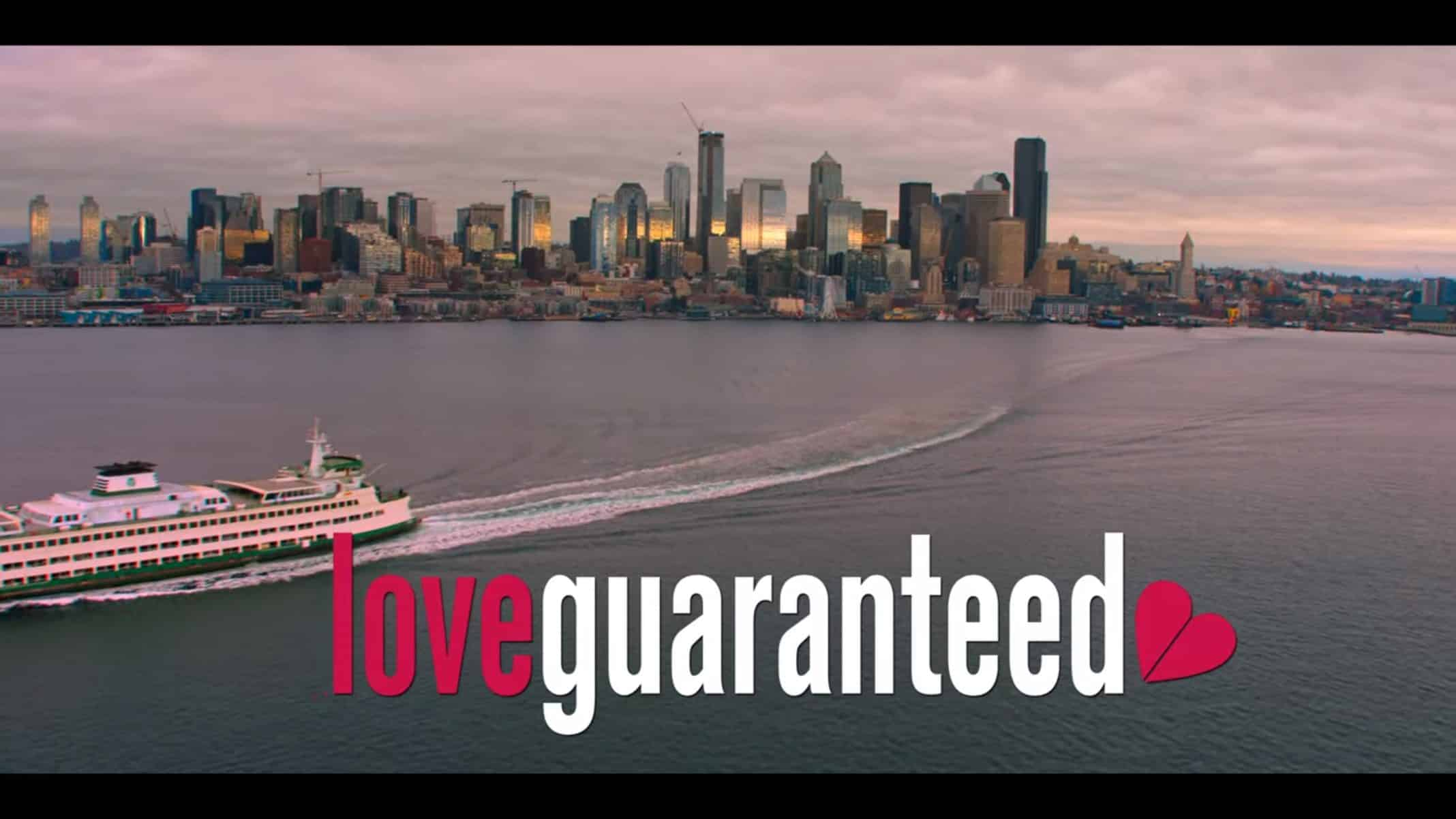 Title Card - Love, Guaranteed (2020)