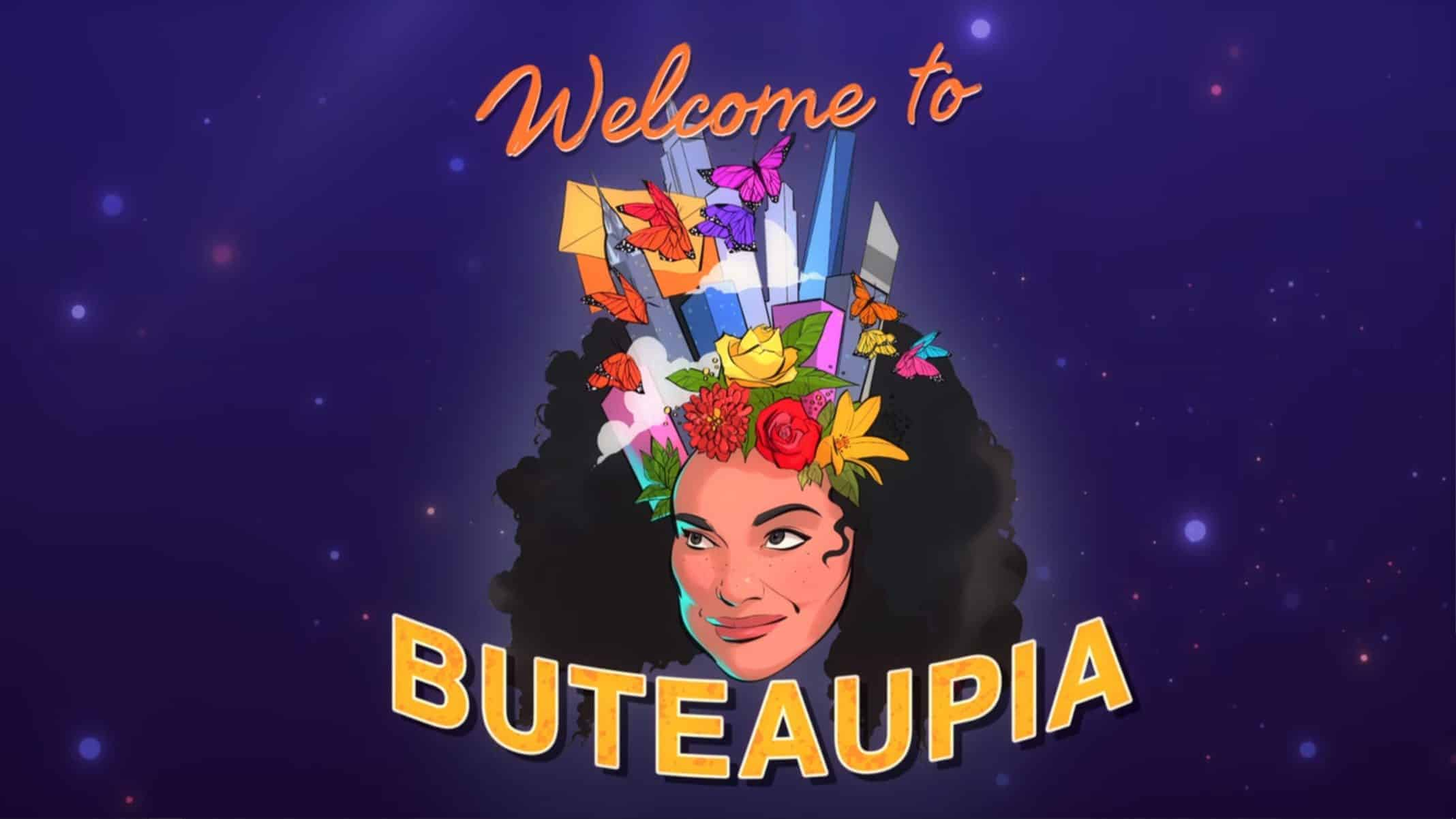 Title Card - Michelle Buteau Welcome to Buteaupia