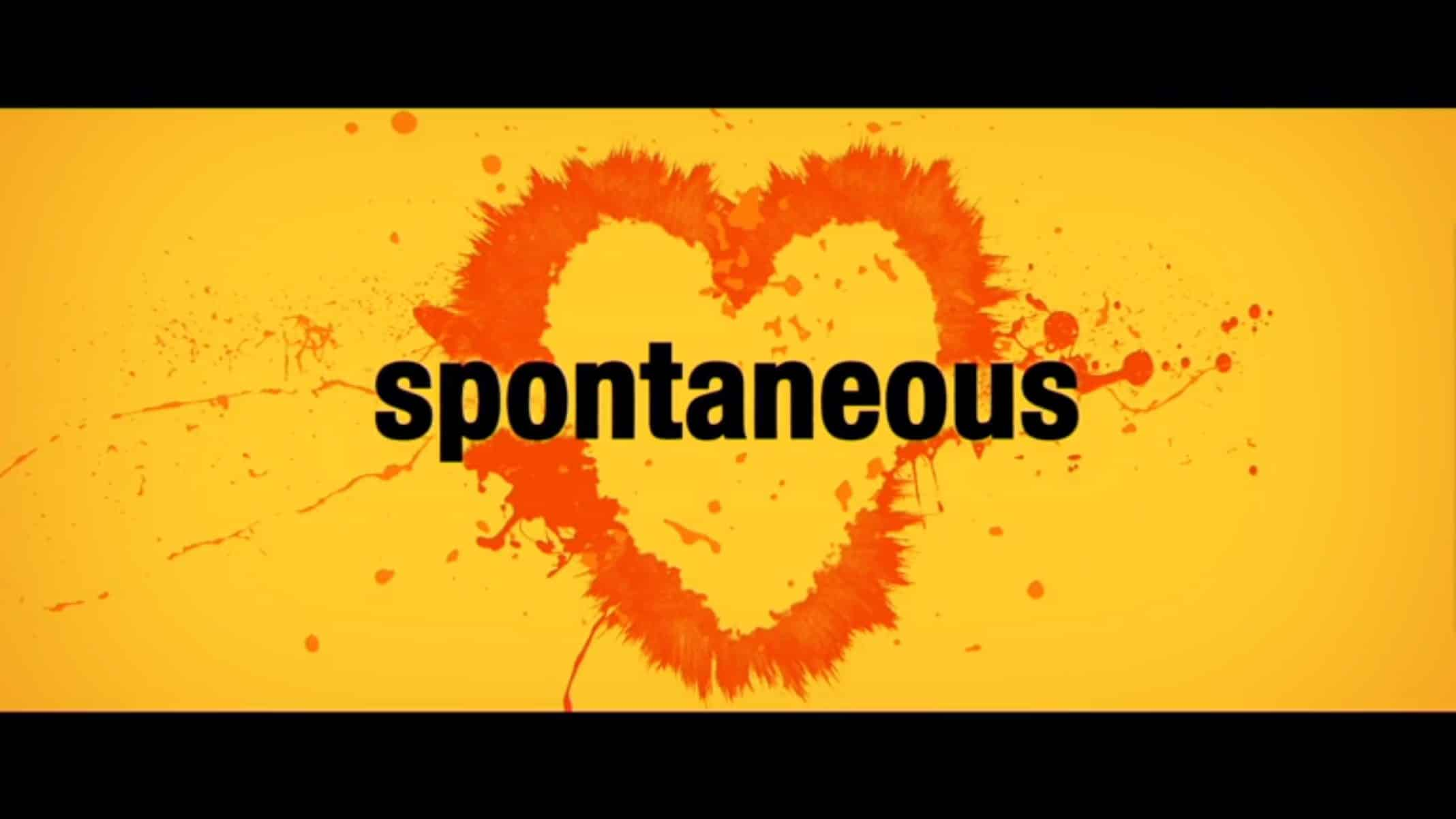 Title Card - Spontaneous (2020) - Preview