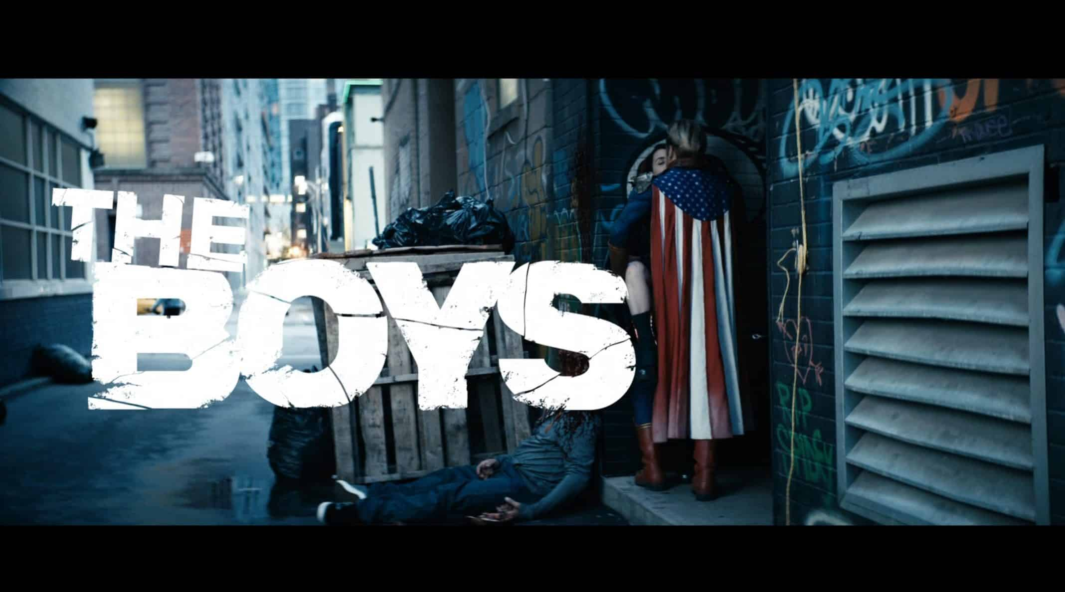 Title Card - The Boys Season 2 Episode 6 The Bloody Doors Off