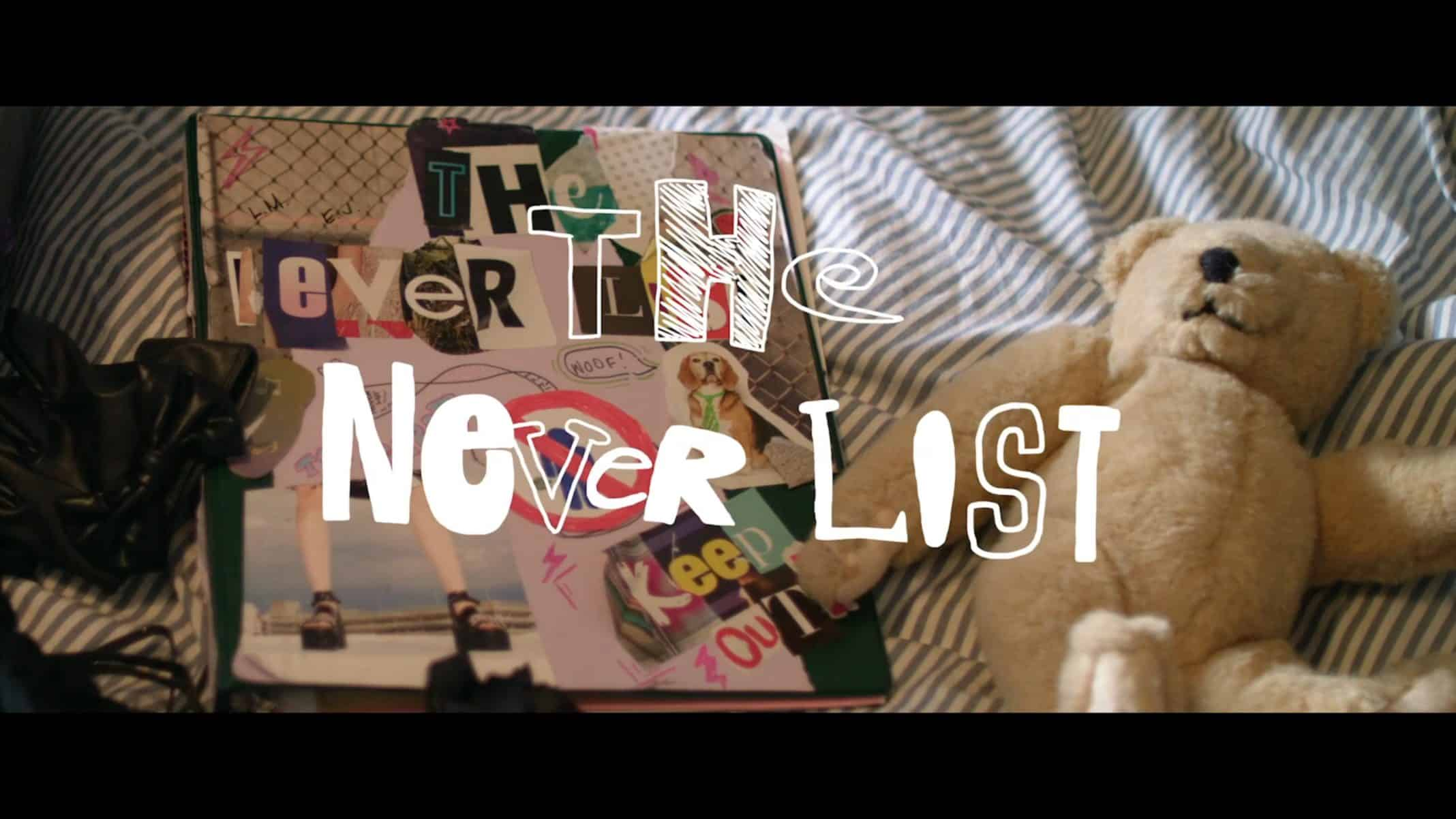 Title Card - The Never List