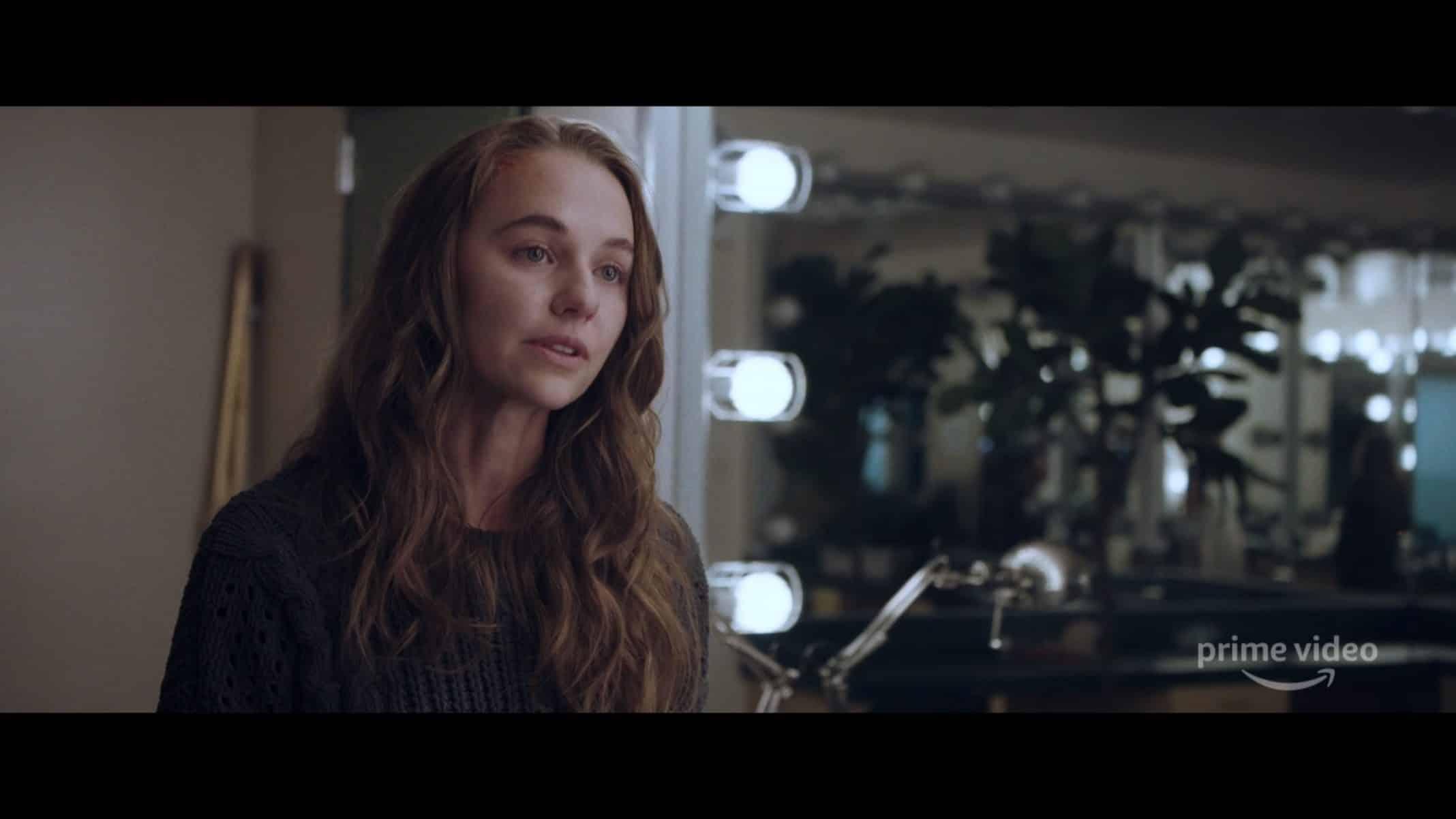 Vivian (Madison Iseman) in a dressing room.