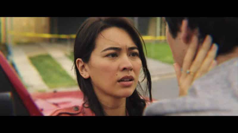 Aimee (Jessica Henwick) talking to Joel.