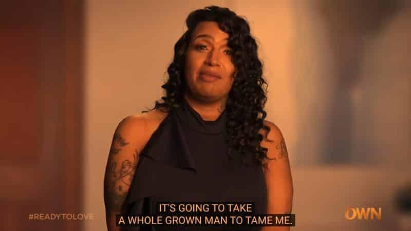 Alisha setting what she needs in a man.