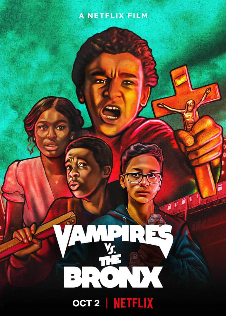 Movie Poster - Vampires vs. The Bronx