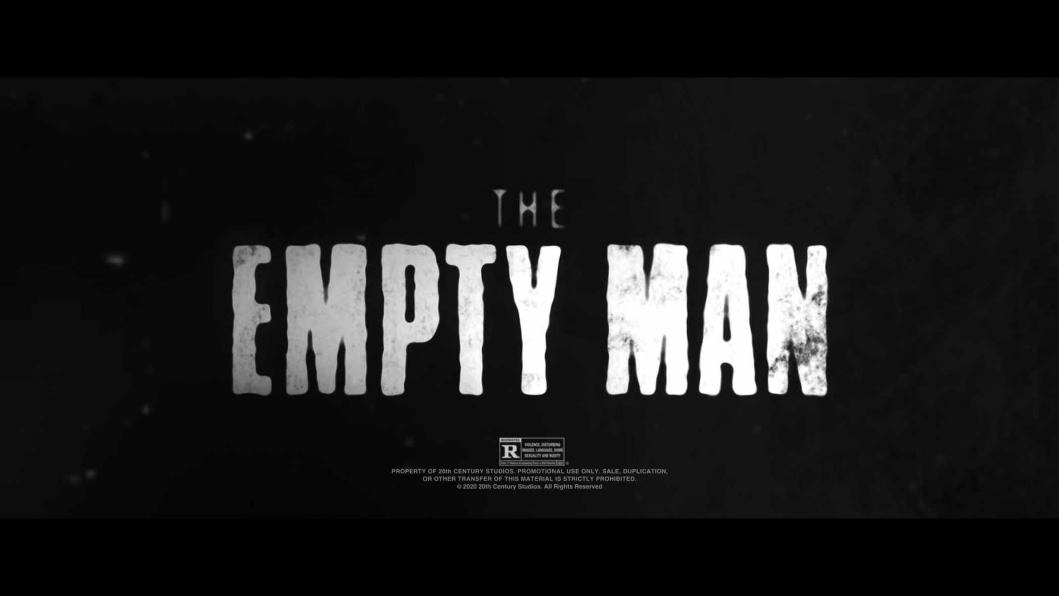 Title Card - The Empty Man