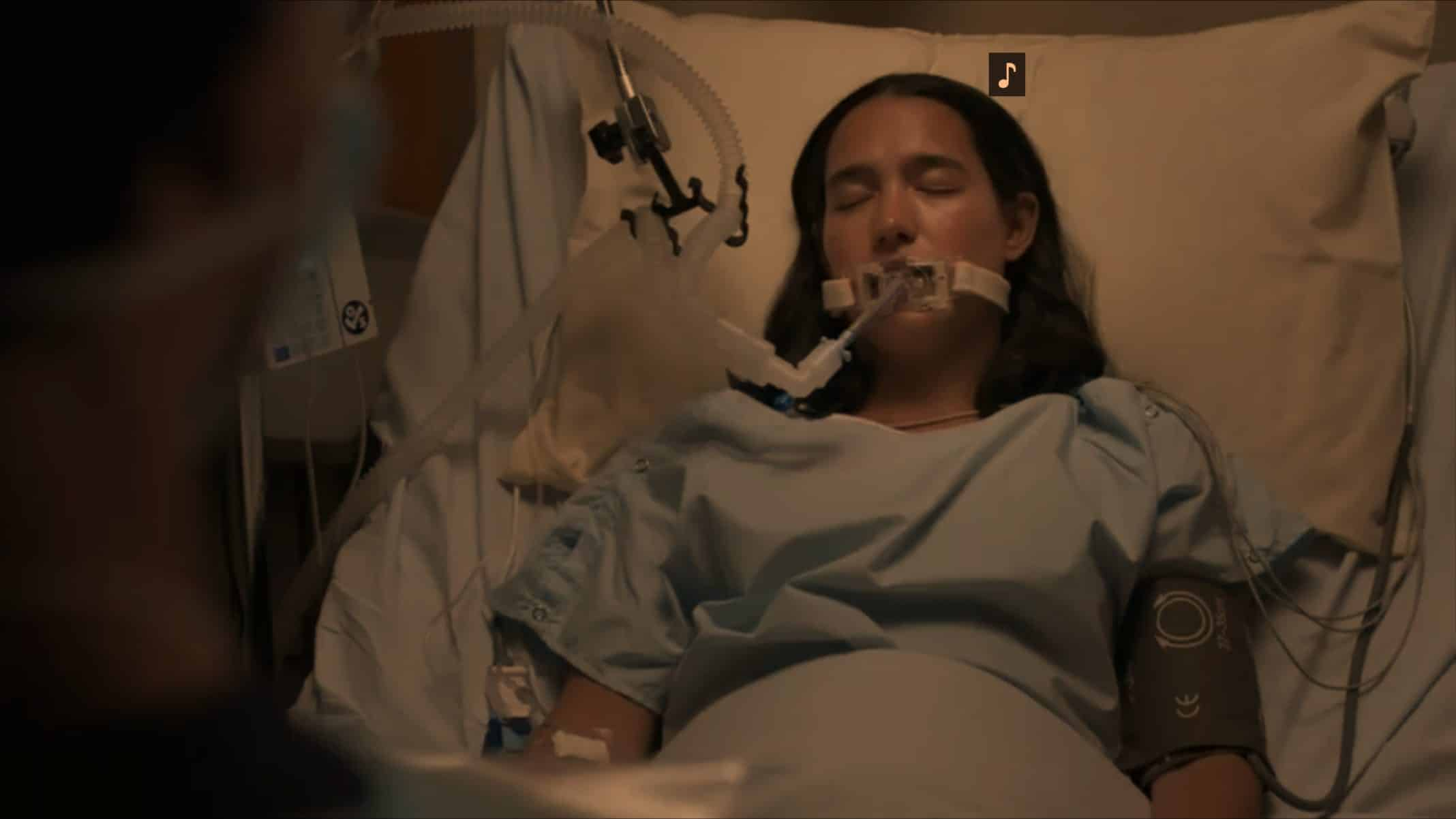 Ambar (Arlen Aguayo-Stewart) in critical condition