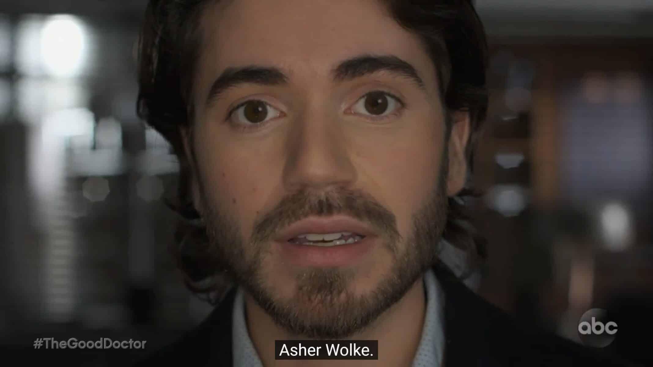 Asher (Noah Galvin) introducing himself